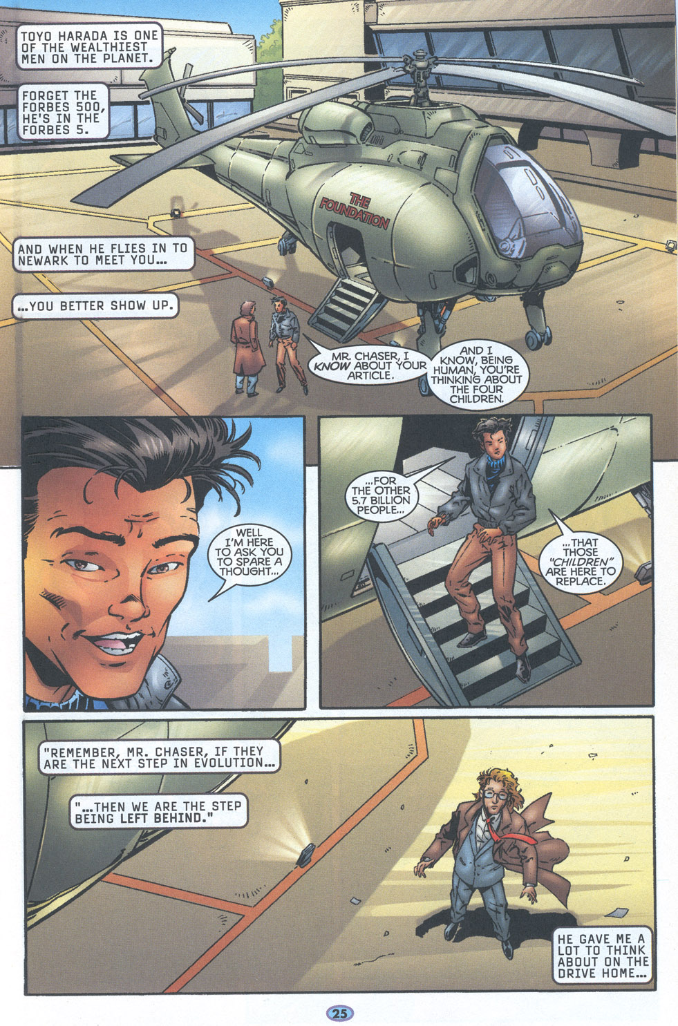 Read online Troublemakers comic -  Issue #16 - 22