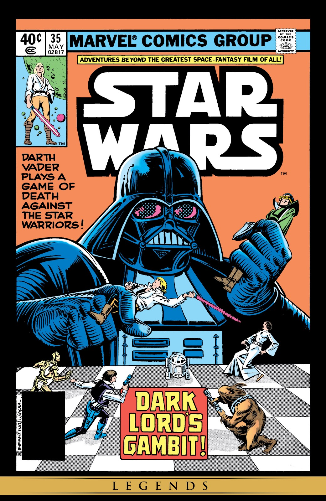 Read online Star Wars Legends: The Original Marvel Years - Epic Collection comic -  Issue # TPB 2 (Part 3) - 39
