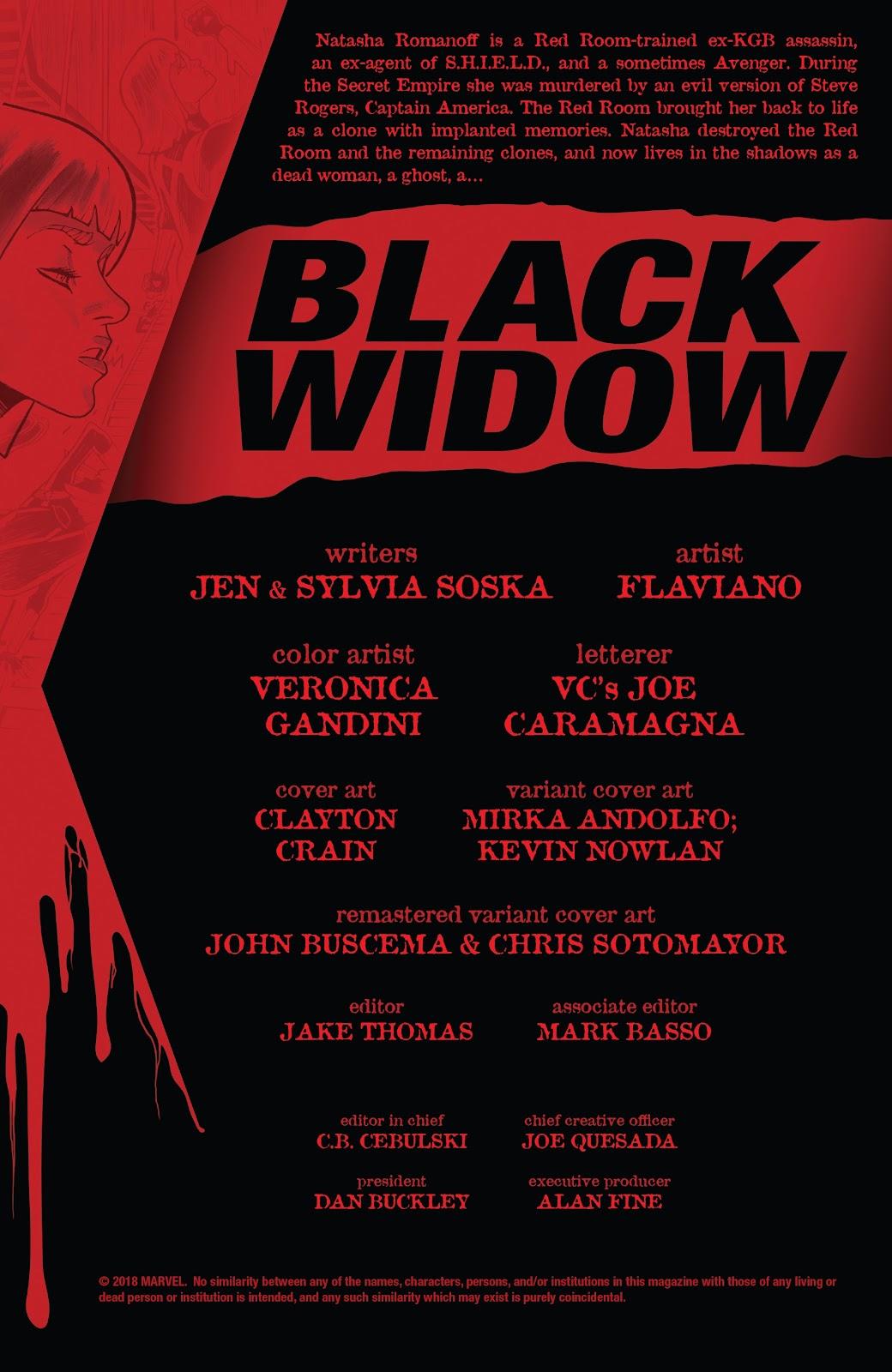 Read online Black Widow (2019) comic -  Issue #1 - 3