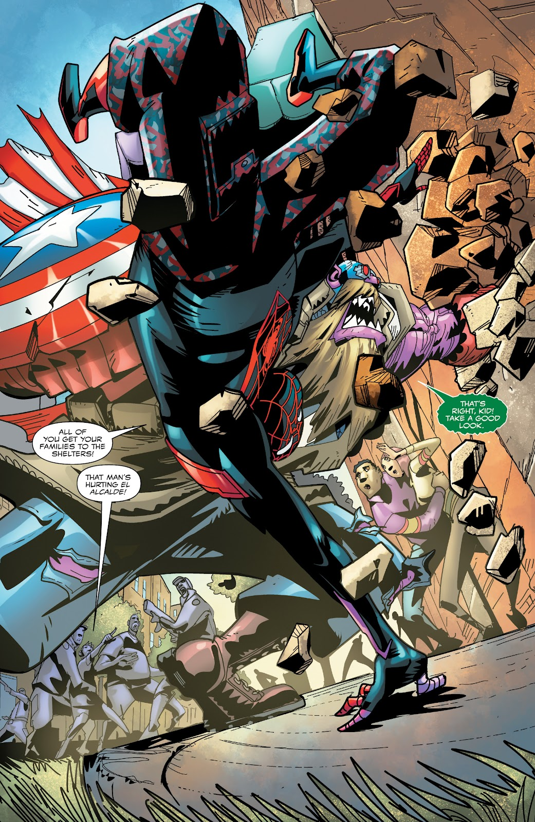 Read online Miles Morales: The End comic -  Issue # Full - 23