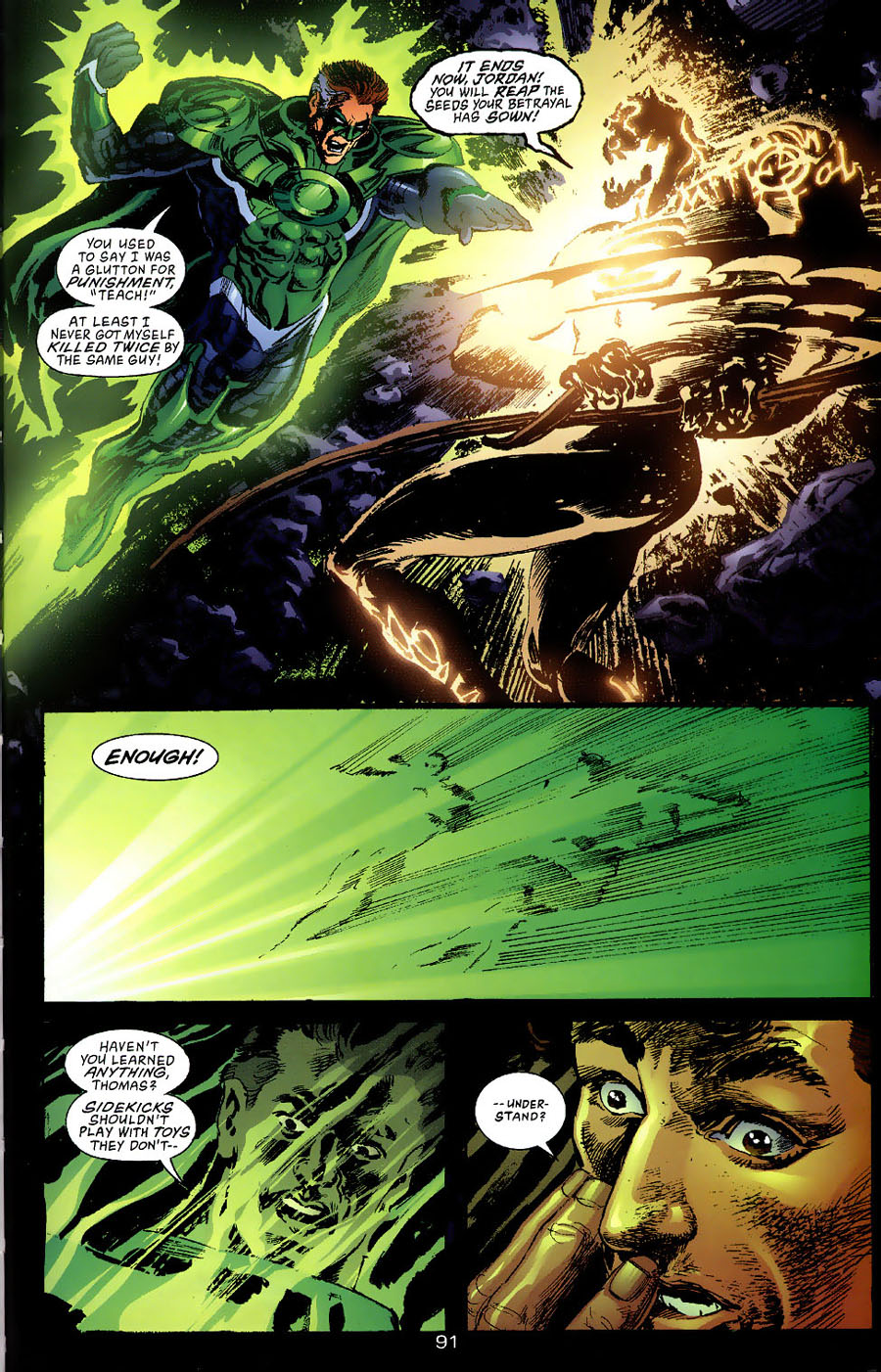 Read online Green Lantern: Legacy: The Last Will and Testament of Hal Jordan comic -  Issue # TPB - 98