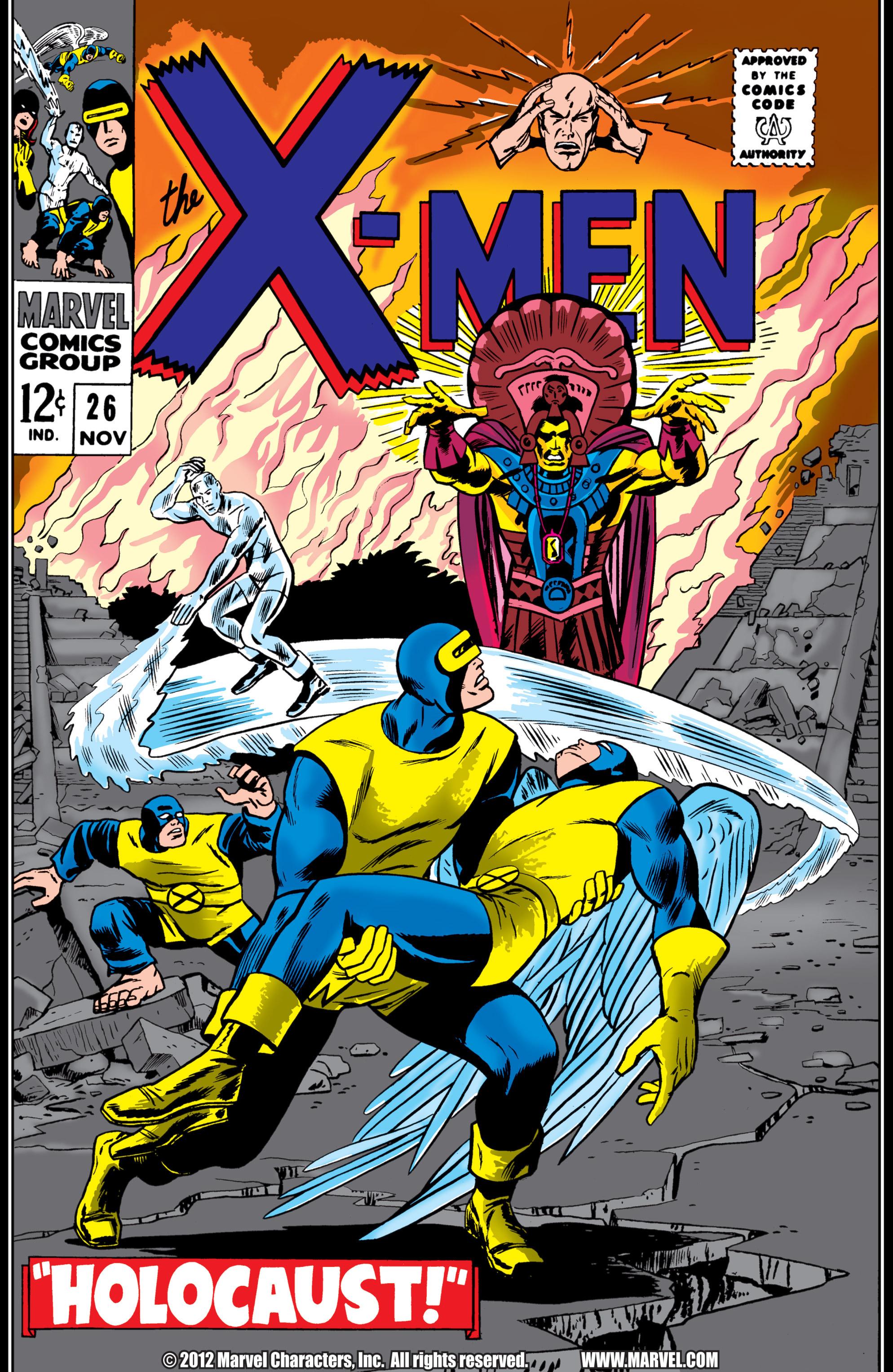Uncanny X-Men (1963) 26 Page 1