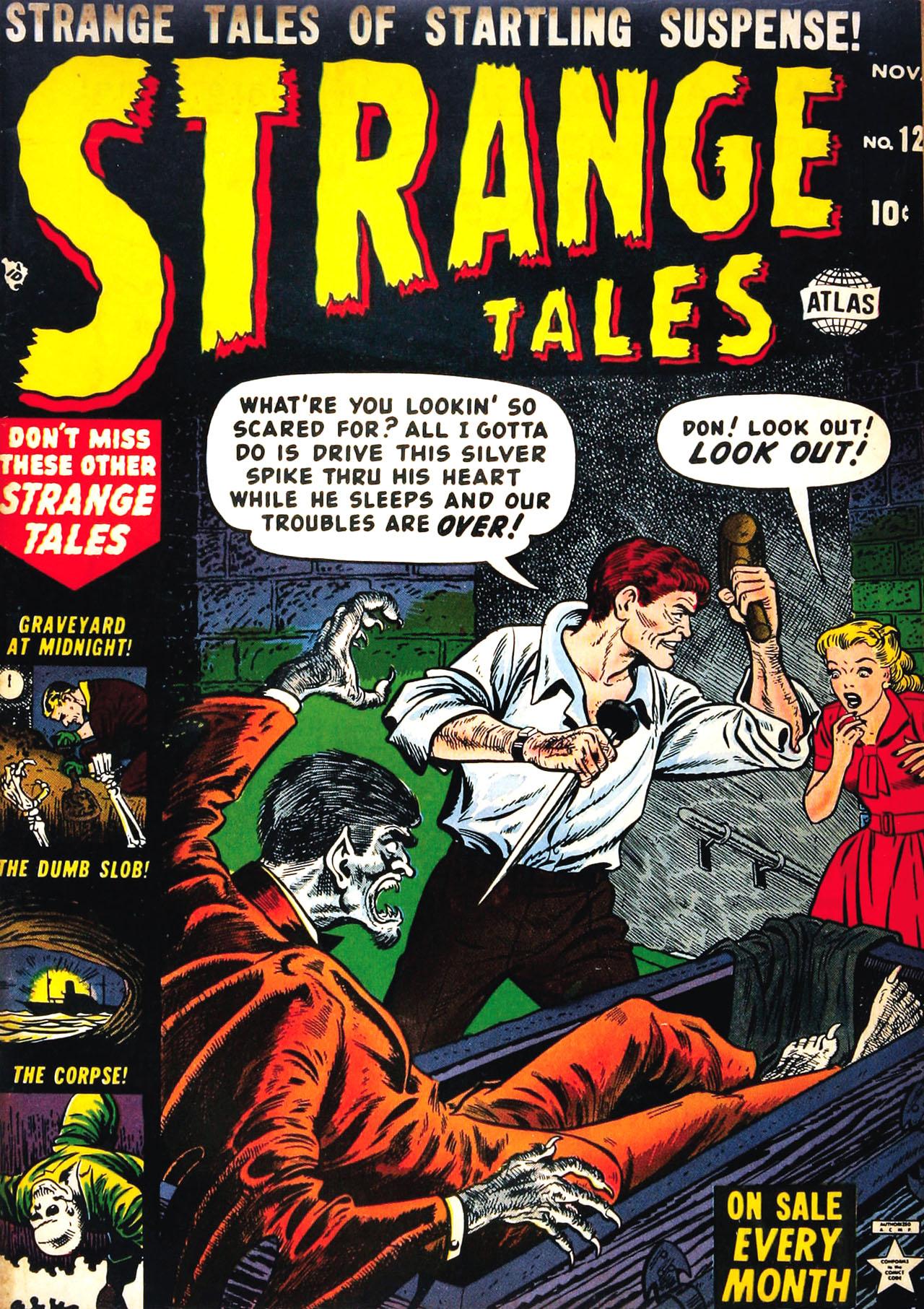 Strange Tales (1951) 12 Page 1