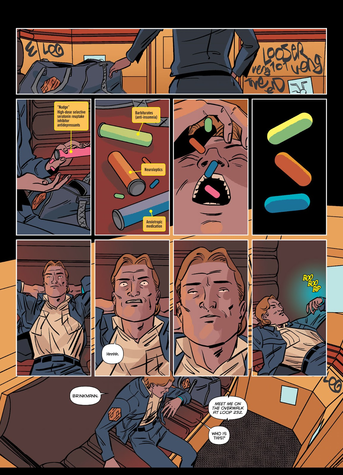 Read online Brink comic -  Issue # TPB 1 - 23