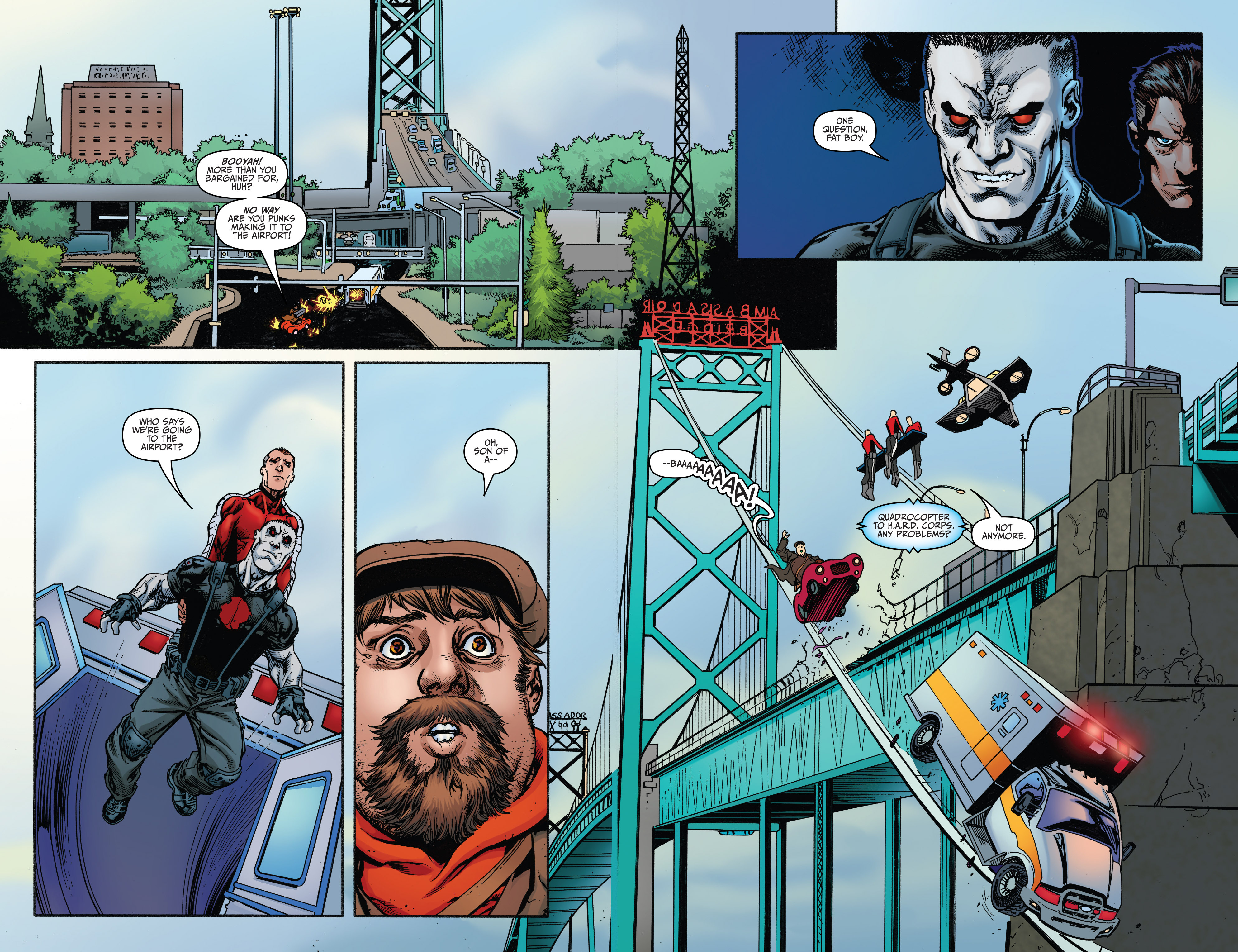 Read online Bloodshot and H.A.R.D.Corps comic -  Issue #20 - 15