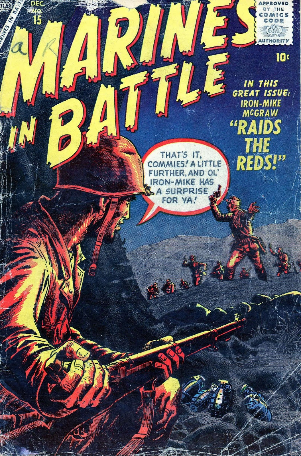 Marines in Battle 15 Page 1