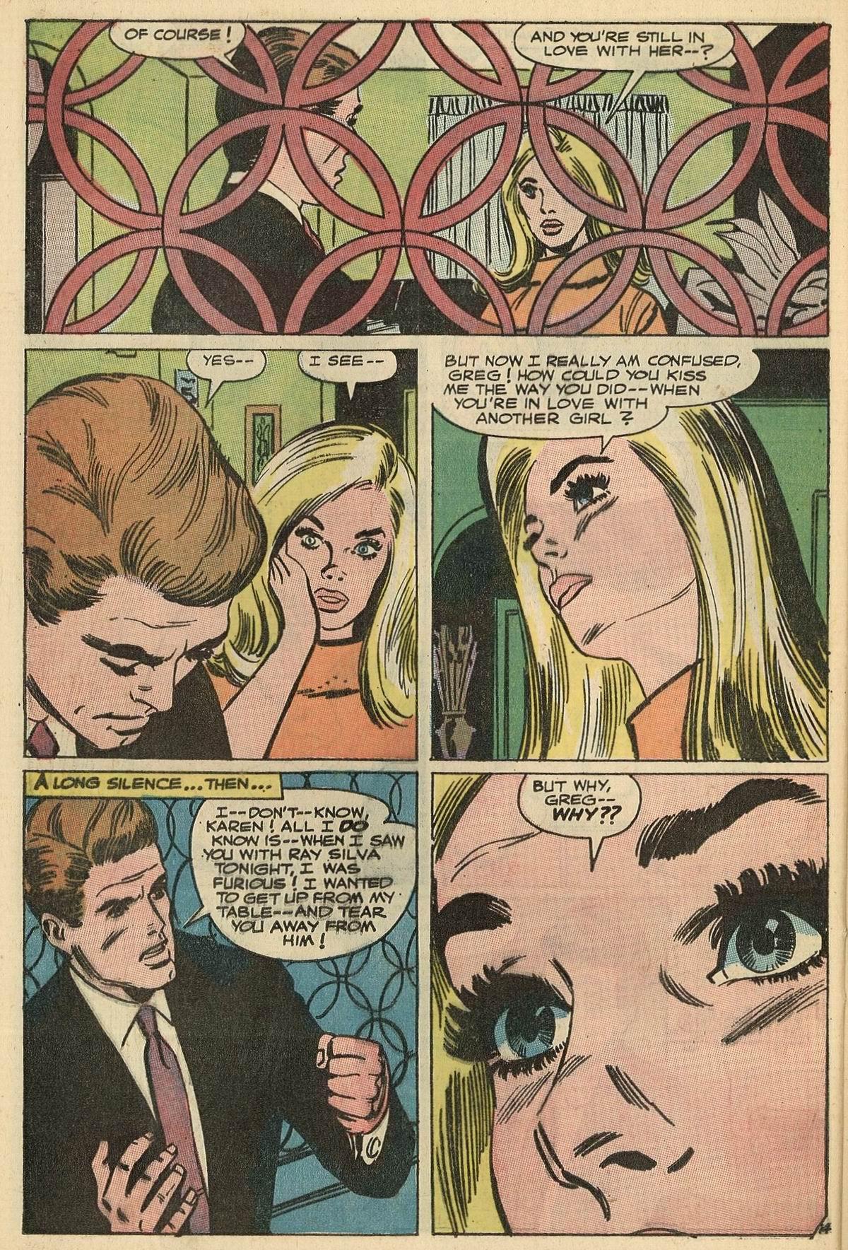 Read online Secret Hearts comic -  Issue #125 - 32