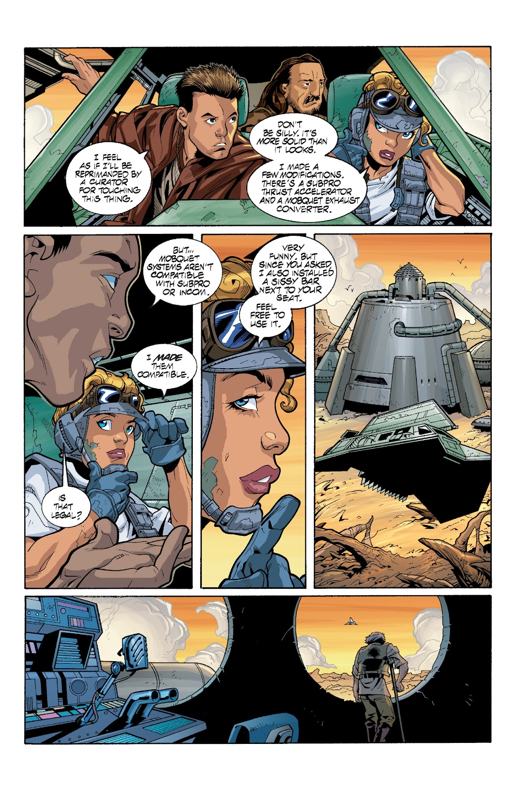 Read online Star Wars Legends: Rise of the Sith - Epic Collection comic -  Issue # TPB 1 (Part 4) - 4