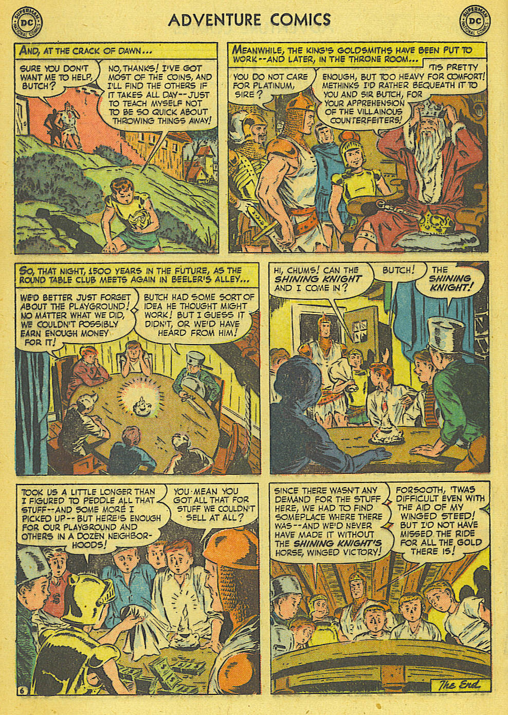 Read online Adventure Comics (1938) comic -  Issue #165 - 19