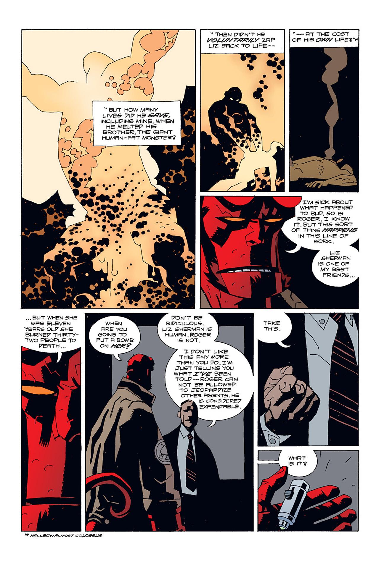 Read online Hellboy: Conqueror Worm comic -  Issue #1 - 15