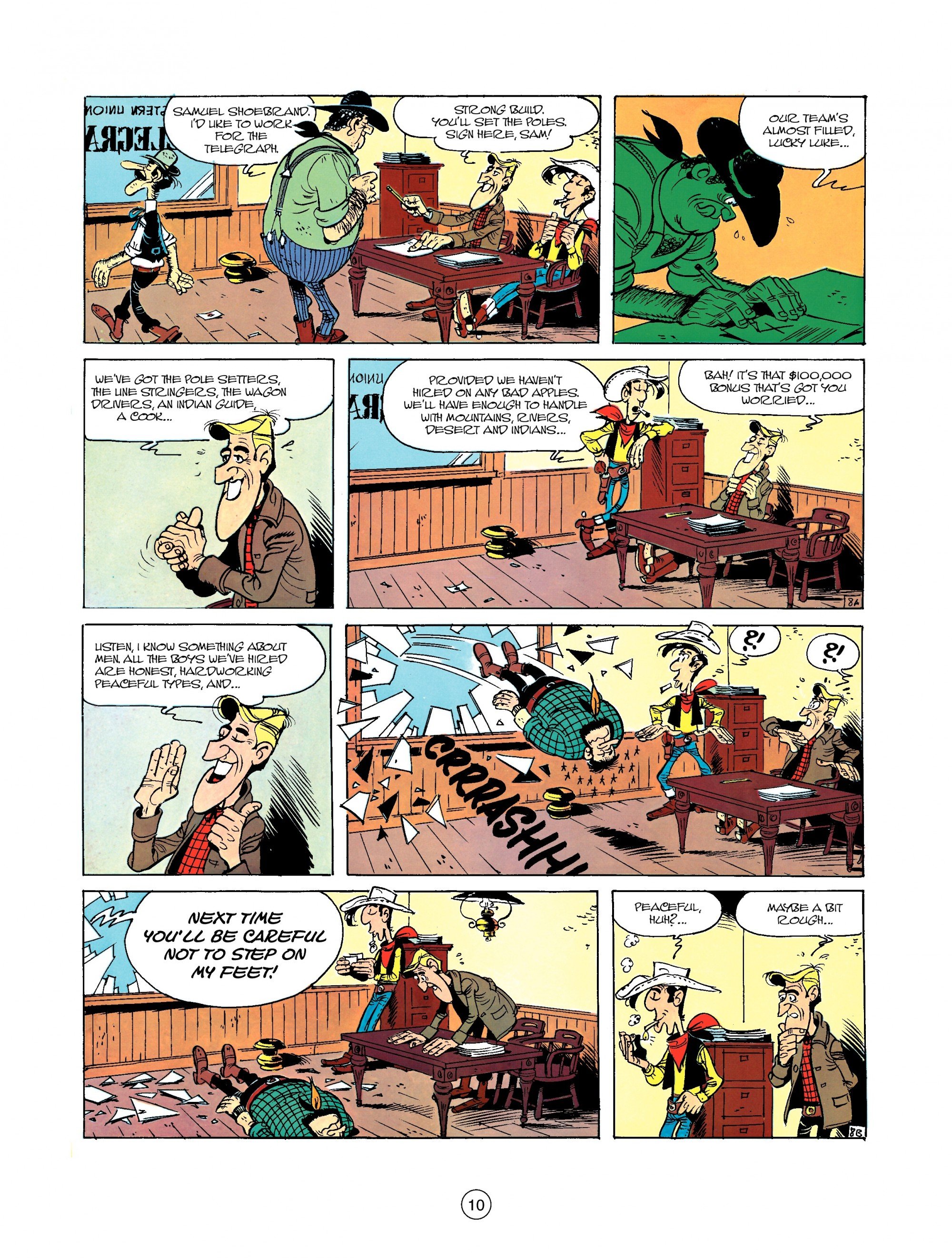 Read online A Lucky Luke Adventure comic -  Issue #35 - 10