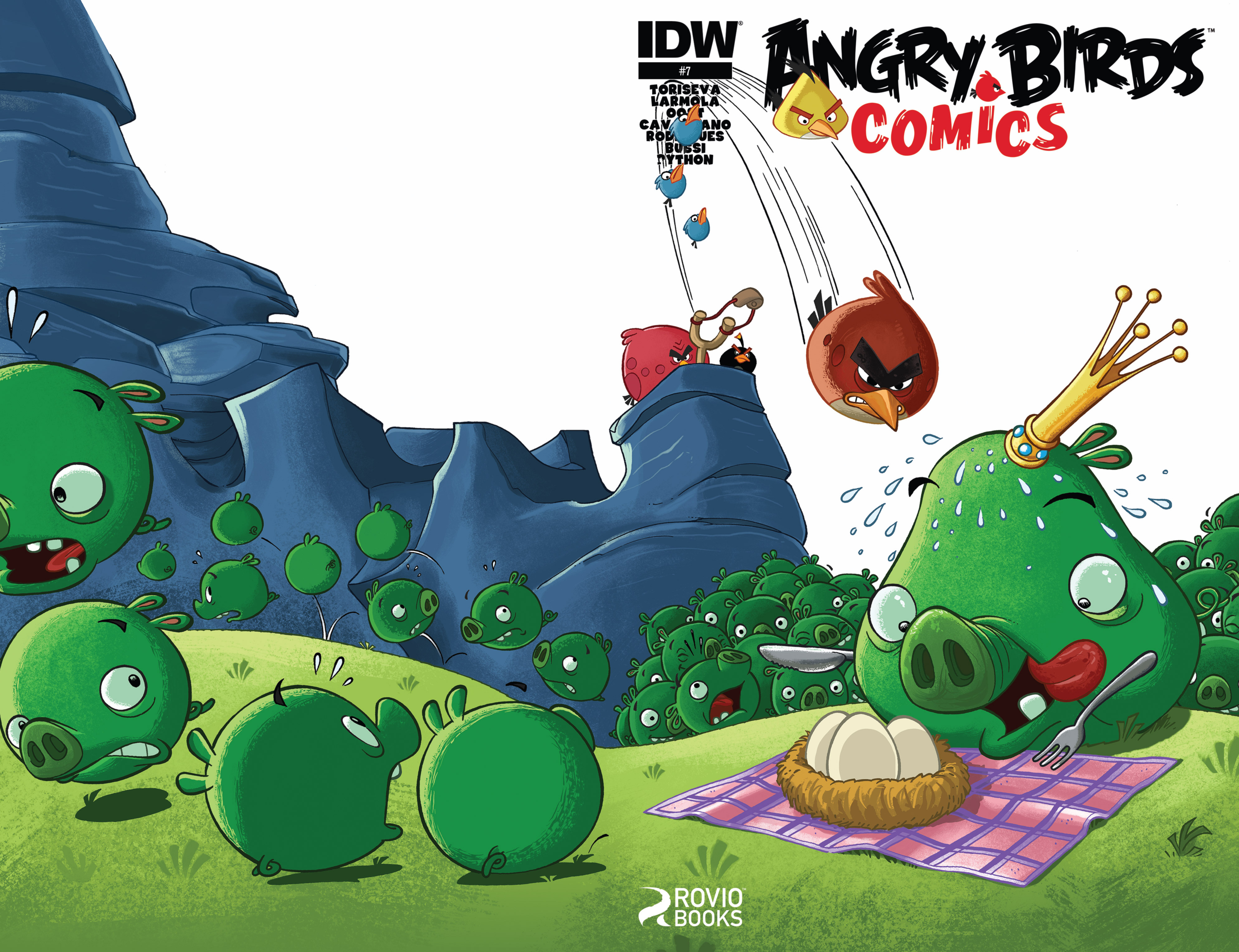 Read online Angry Birds Comics (2014) comic -  Issue #7 - 1