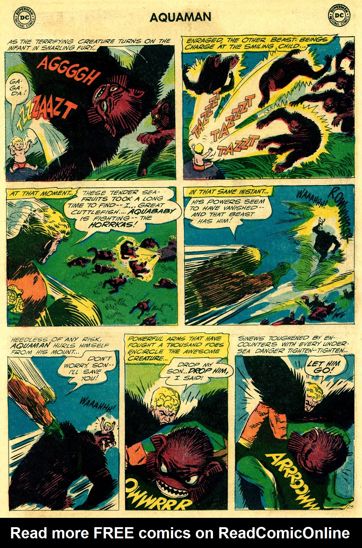 Read online Aquaman (1962) comic -  Issue #23 - 31