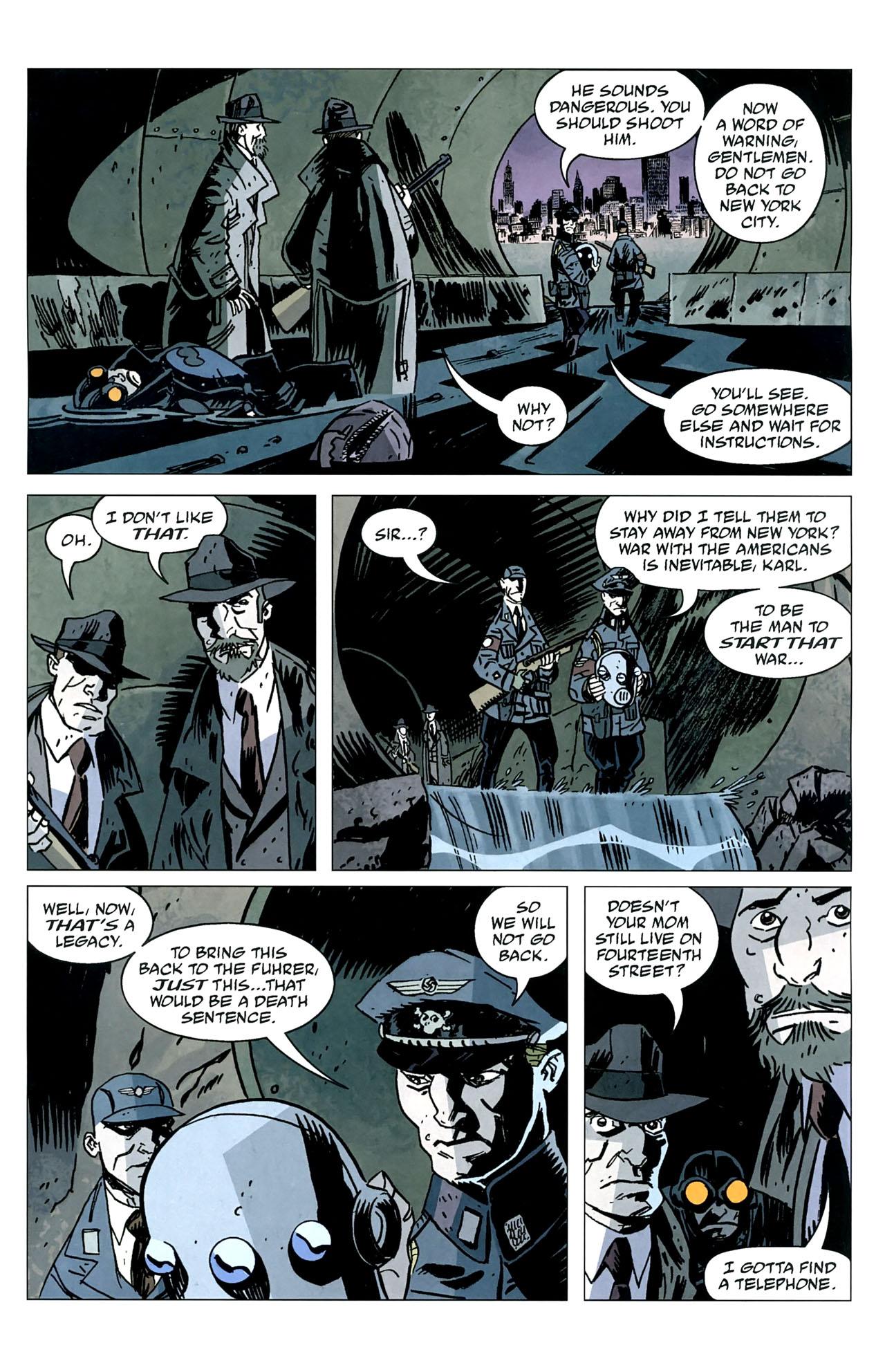 Read online Lobster Johnson: The Iron Prometheus comic -  Issue #5 - 11