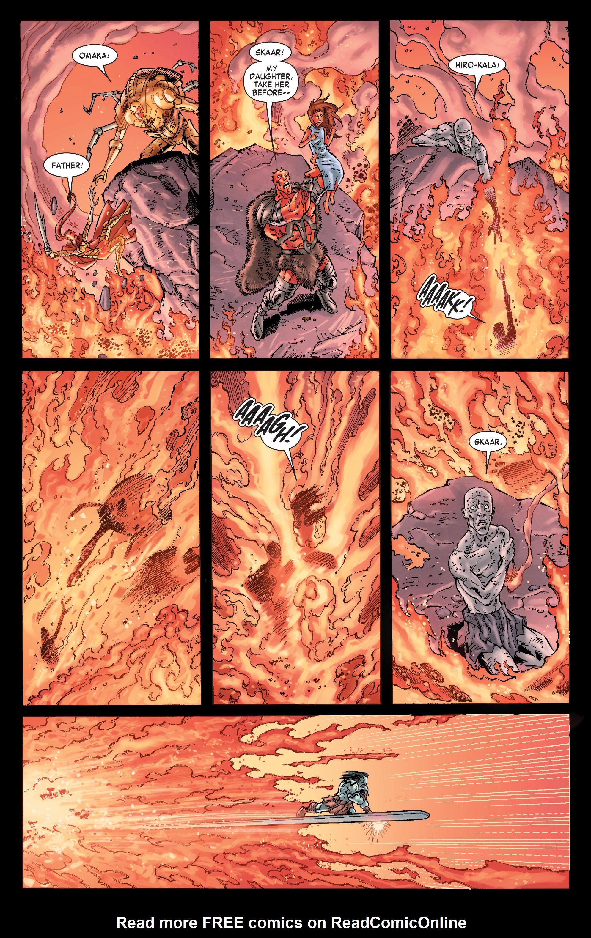 Read online Skaar: Son of Hulk comic -  Issue #10 - 9