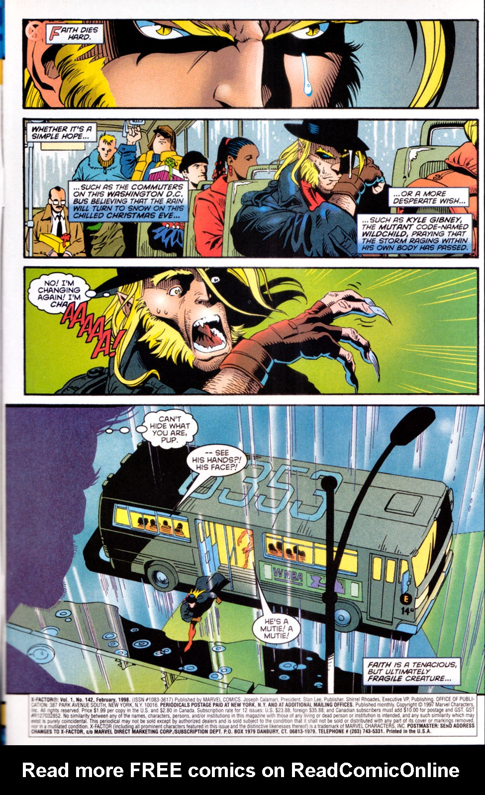 Read online X-Factor (1986) comic -  Issue #142 - 2
