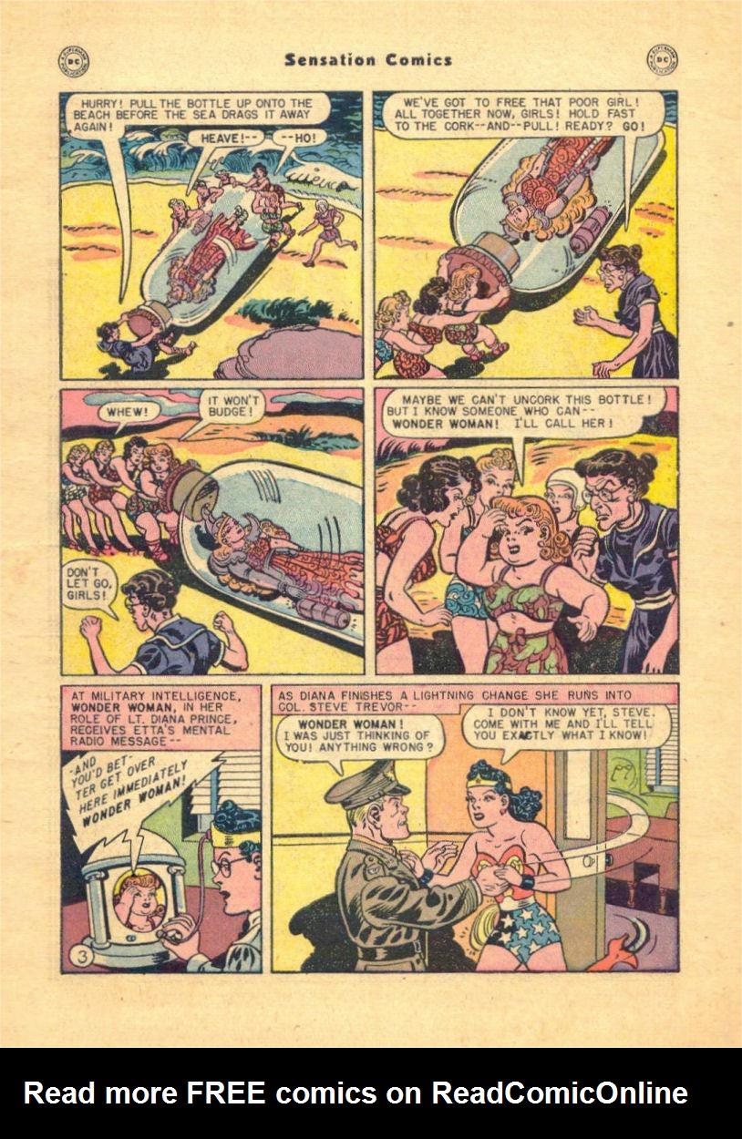 Read online Sensation (Mystery) Comics comic -  Issue #84 - 5