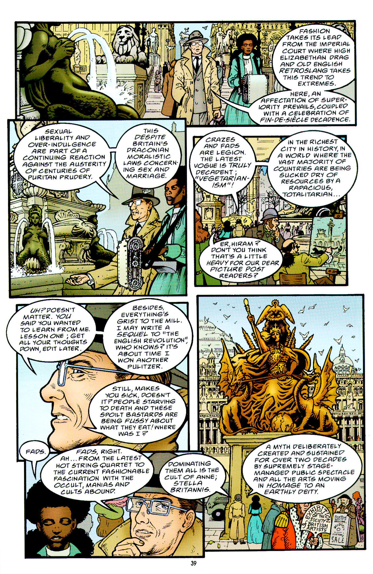 Read online Heart of Empire comic -  Issue #2 - 7