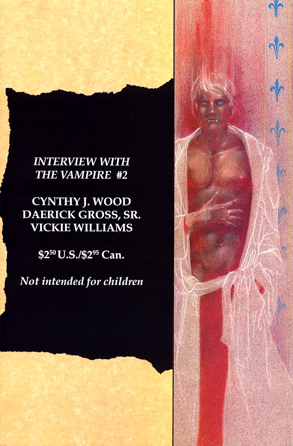 Read online Anne Rice's Interview with the Vampire comic -  Issue #2 - 3