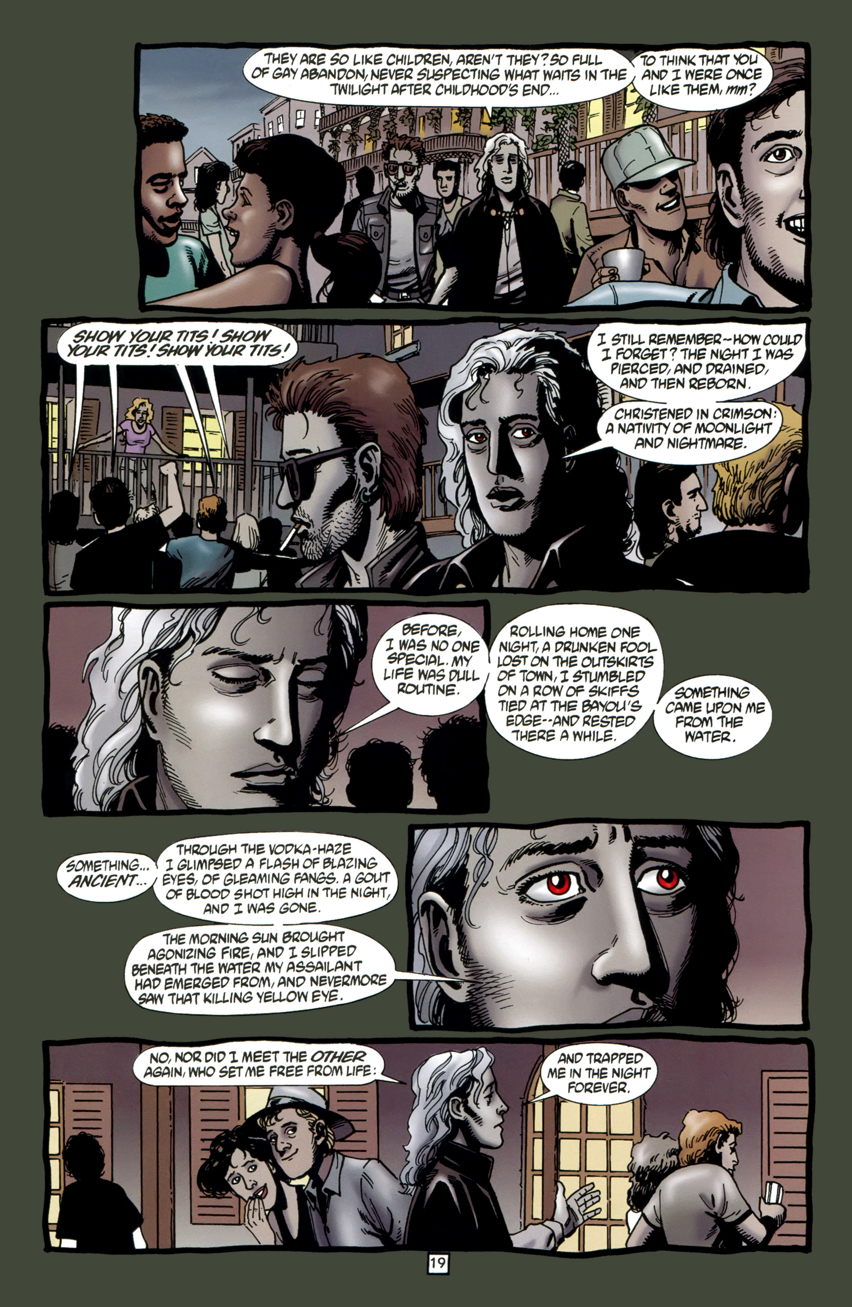 Read online Preacher Special: Cassidy : Blood and Whiskey comic -  Issue # Full - 21