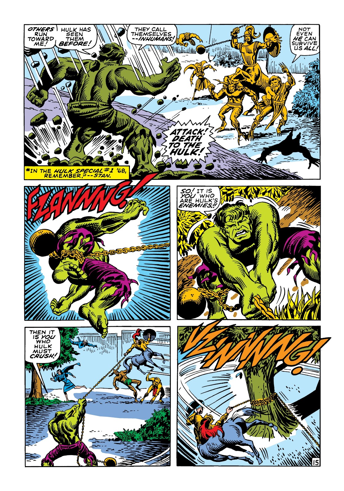 Read online Marvel Masterworks: The Incredible Hulk comic -  Issue # TPB 5 (Part 2) - 89