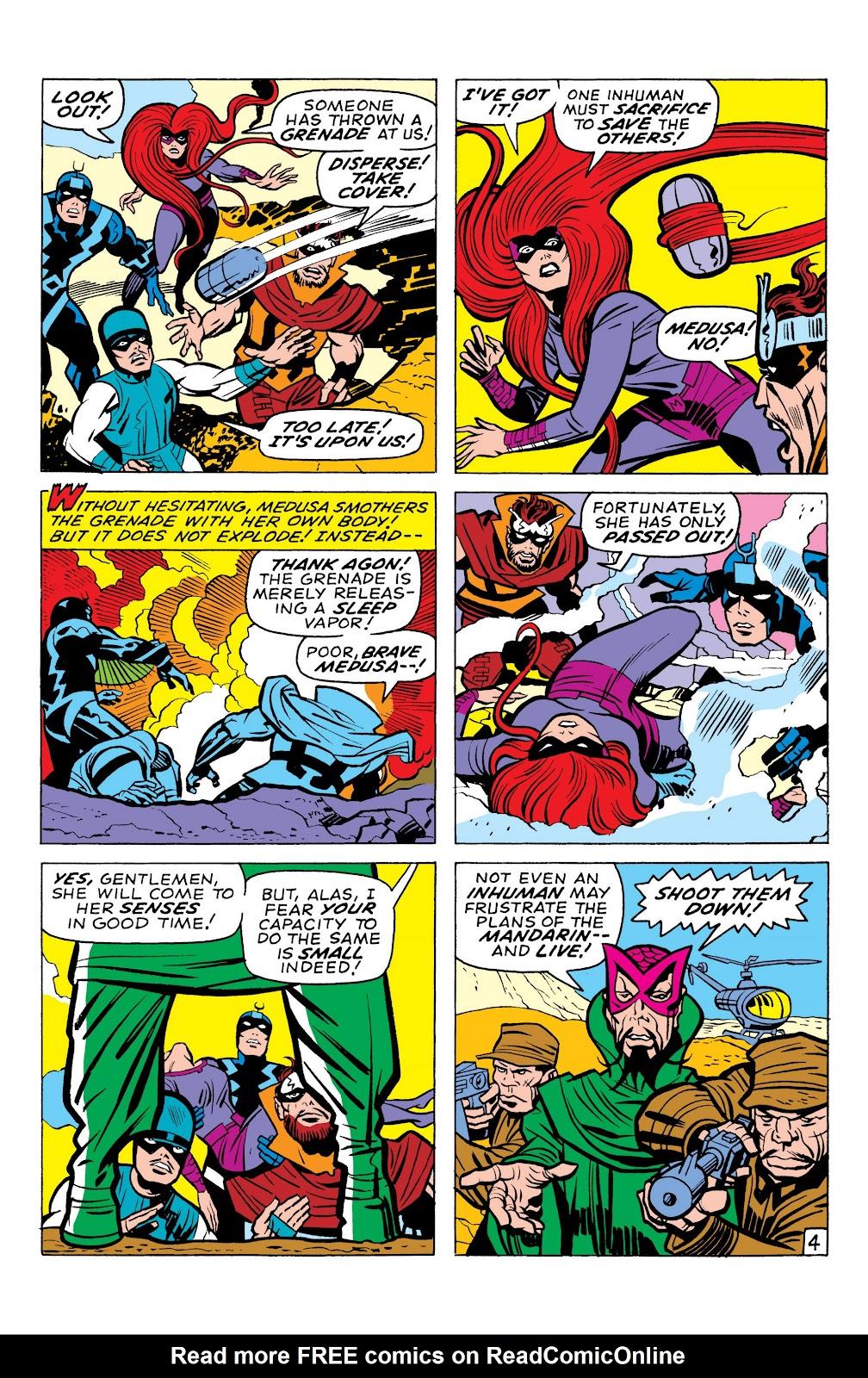 Read online Marvel Masterworks: The Inhumans comic -  Issue # TPB 1 (Part 1) - 95