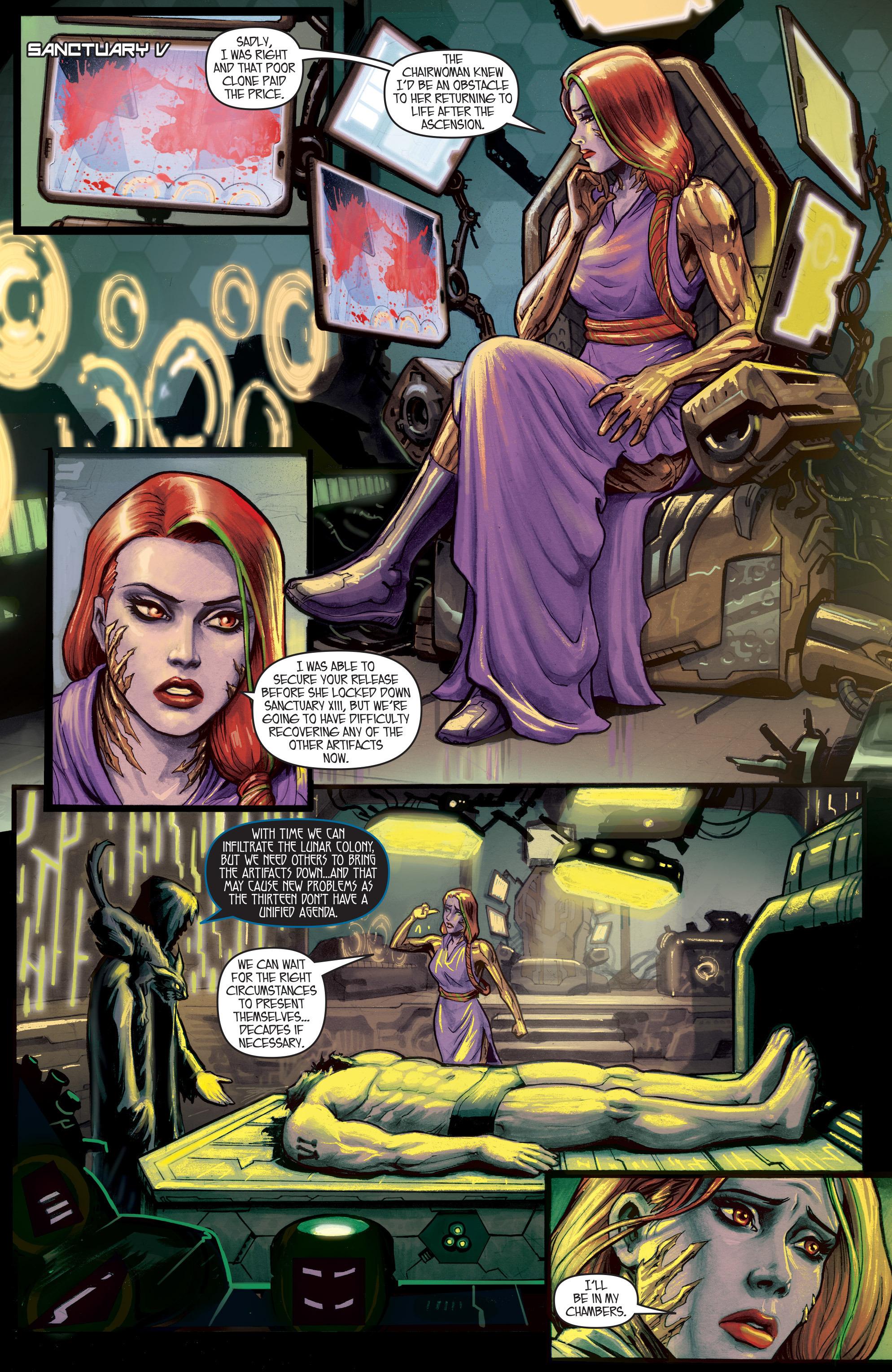 Read online IXth Generation Hidden Files comic -  Issue #1 - 9