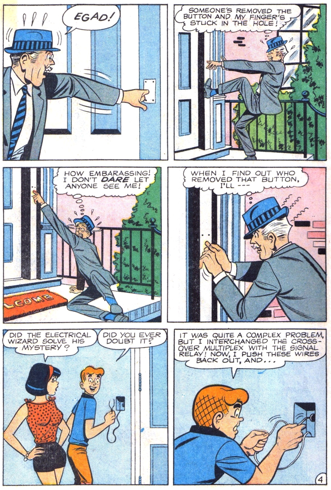 Read online Archie (1960) comic -  Issue #164 - 6
