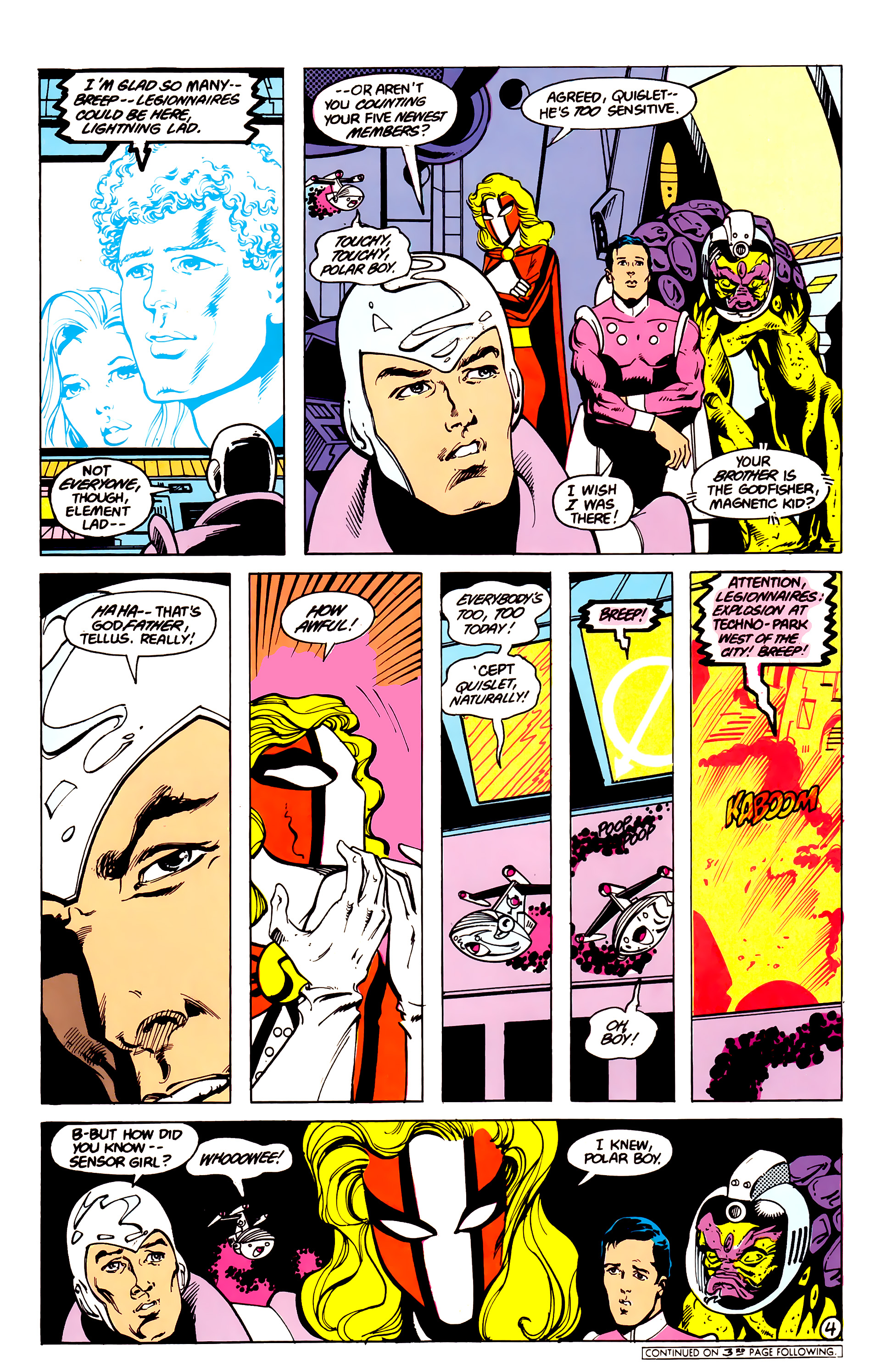 Legion of Super-Heroes (1984) 16 Page 5
