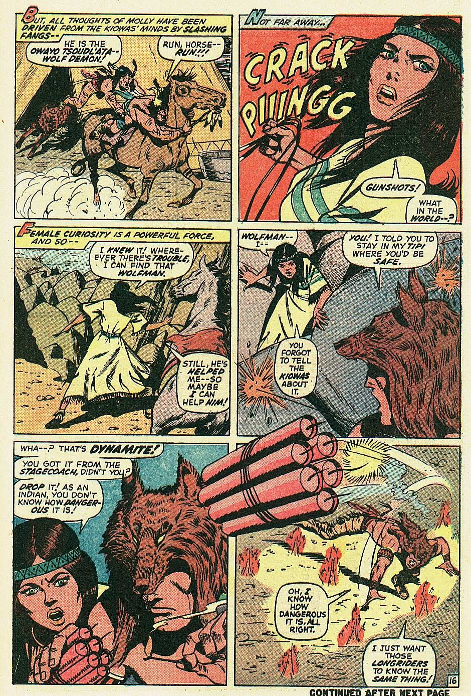 Red Wolf (1972) issue 2 - Page 17