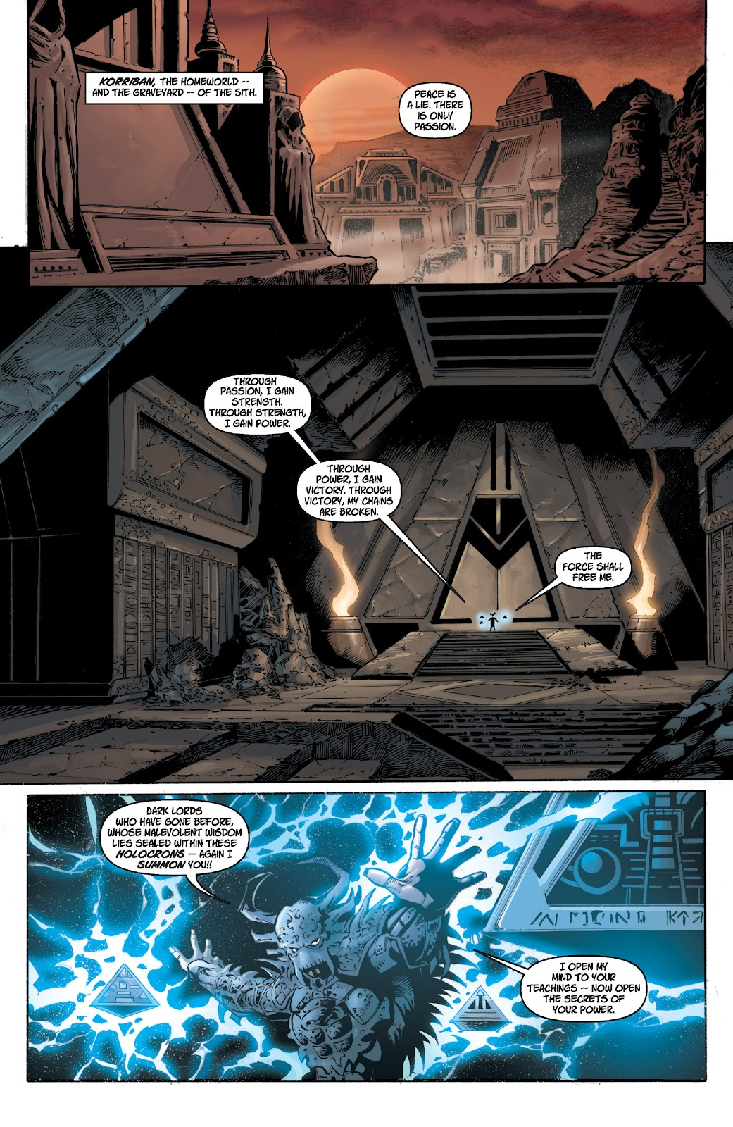 Read online Star Wars Legends: Legacy - Epic Collection comic -  Issue # TPB 1 (Part 1) - 79