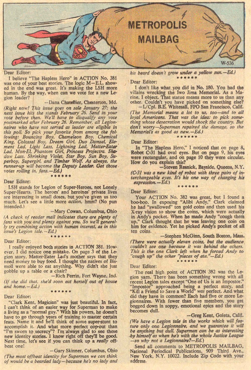 Read online Action Comics (1938) comic -  Issue #386 - 11