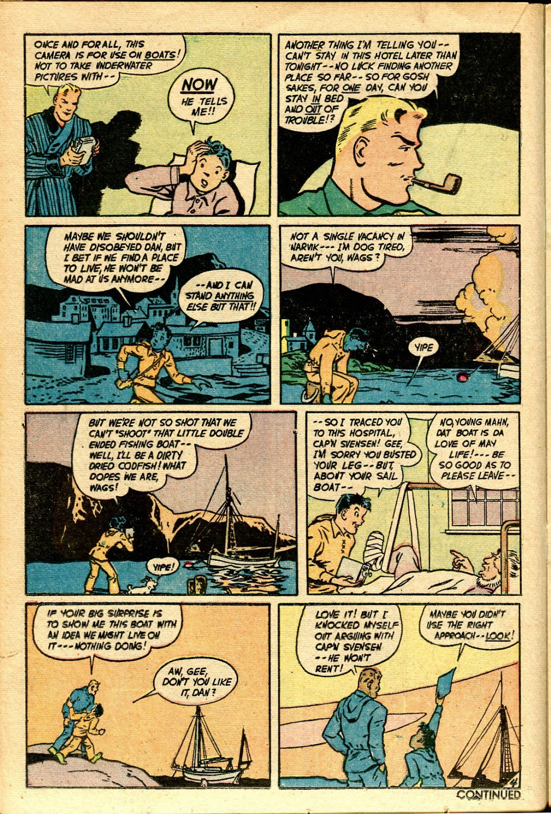 Read online Famous Funnies comic -  Issue #188 - 23