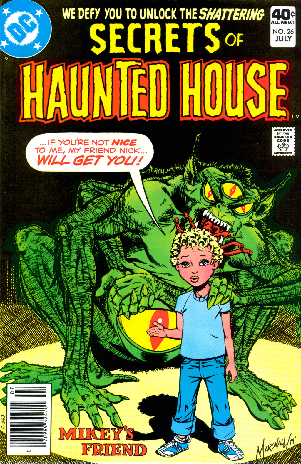 Read online Secrets of Haunted House comic -  Issue #26 - 1