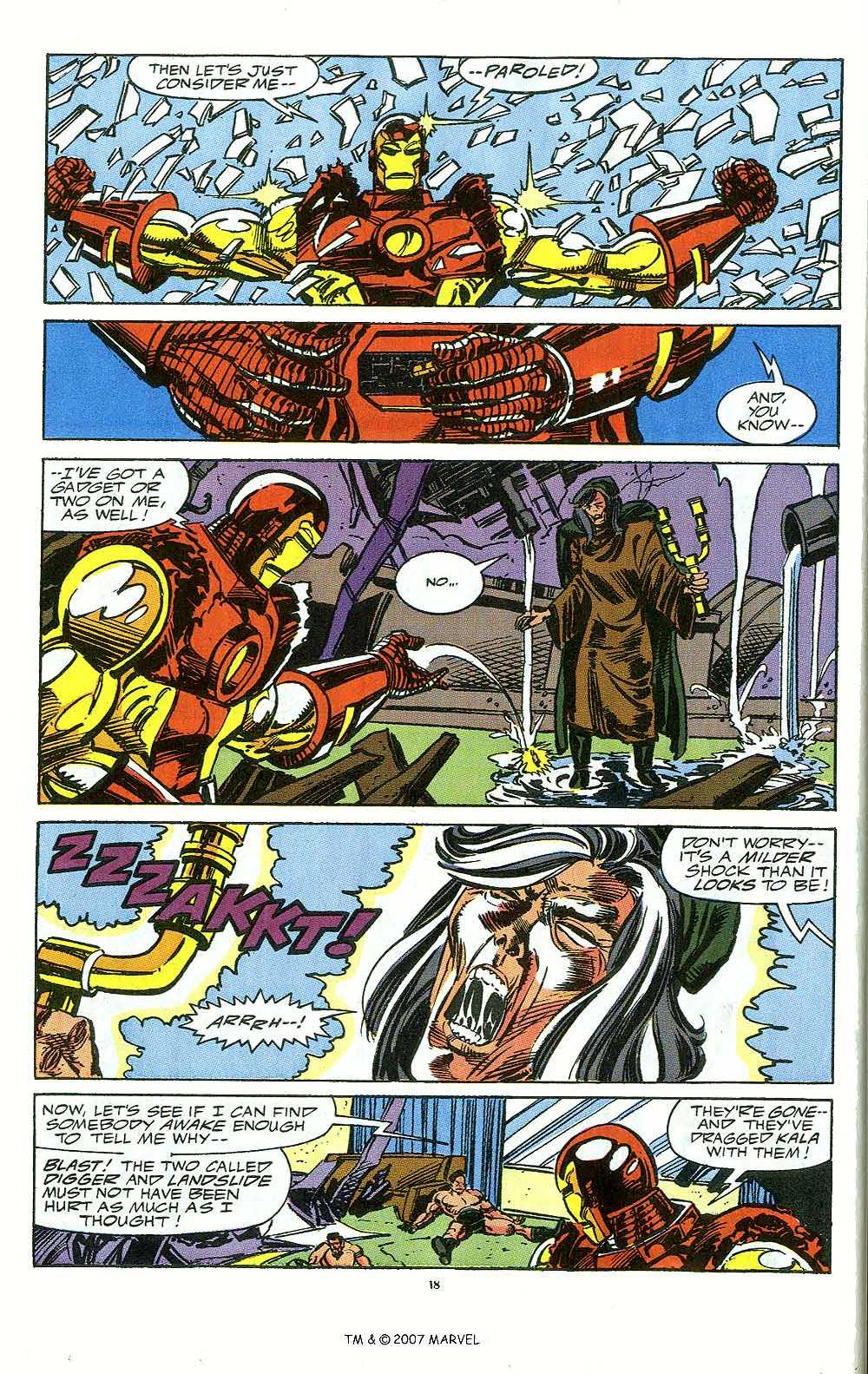 Iron Man Annual issue 12 - Page 20