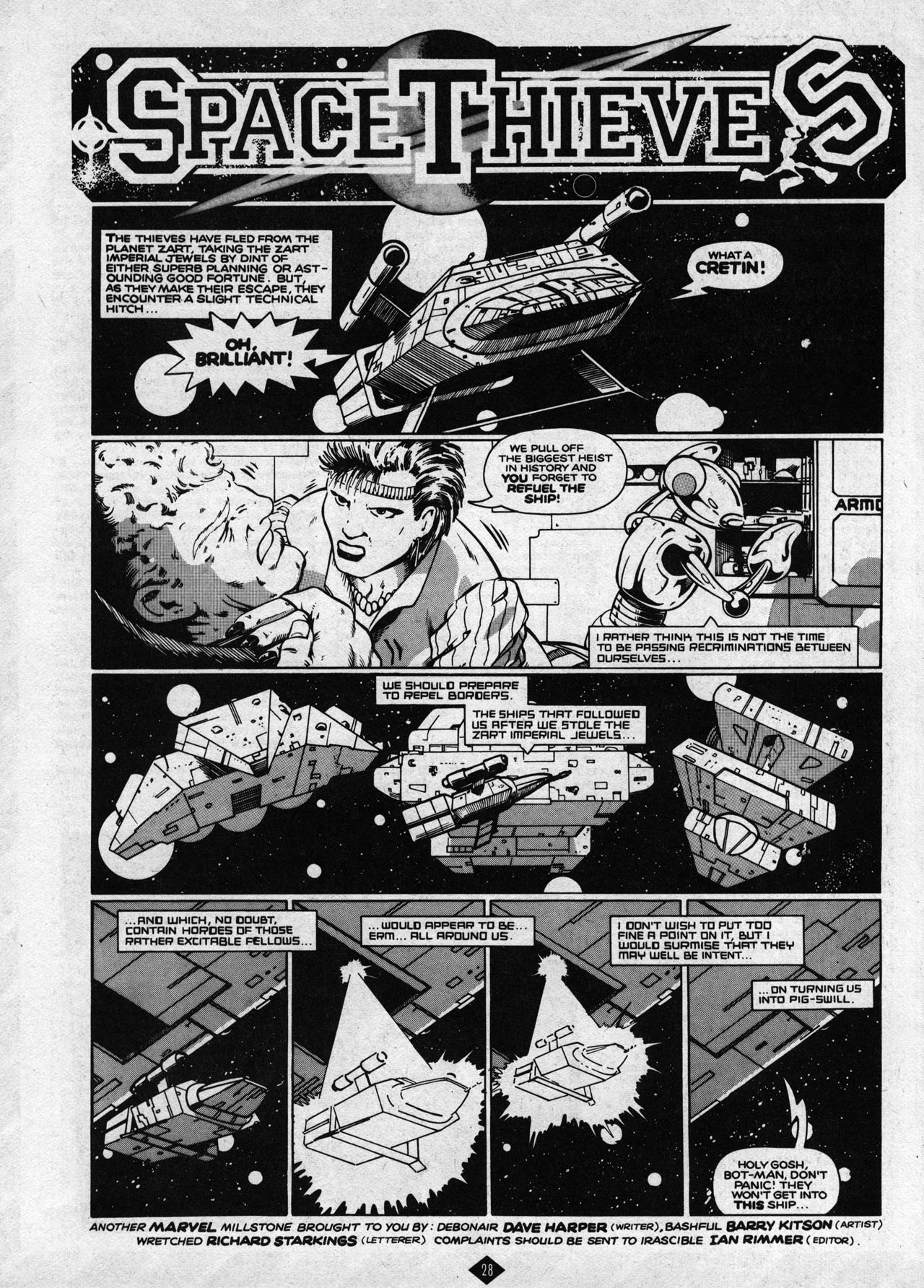 Captain Britain (1985) 8 Page 28