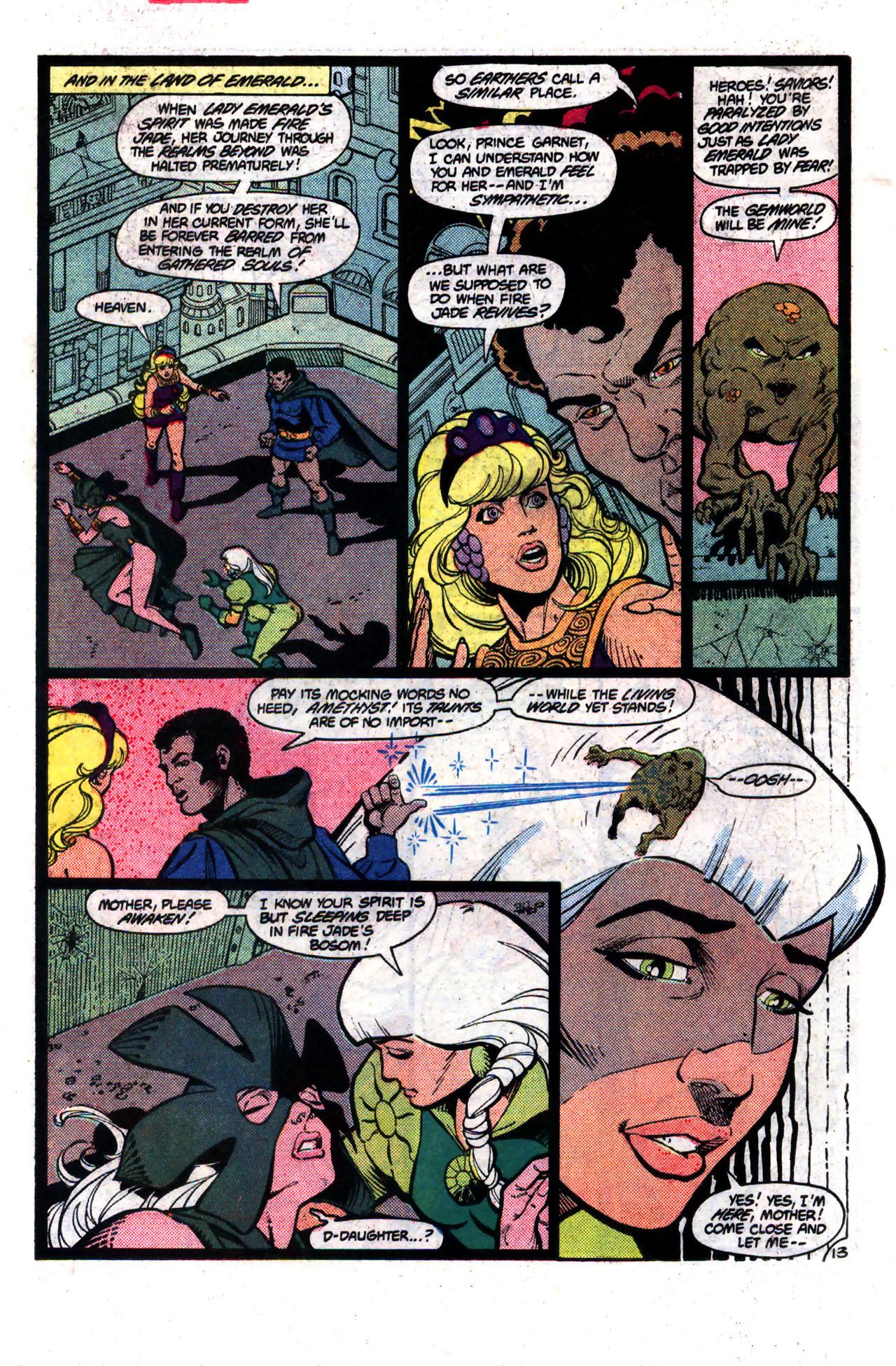 Read online Amethyst (1985) comic -  Issue #8 - 13
