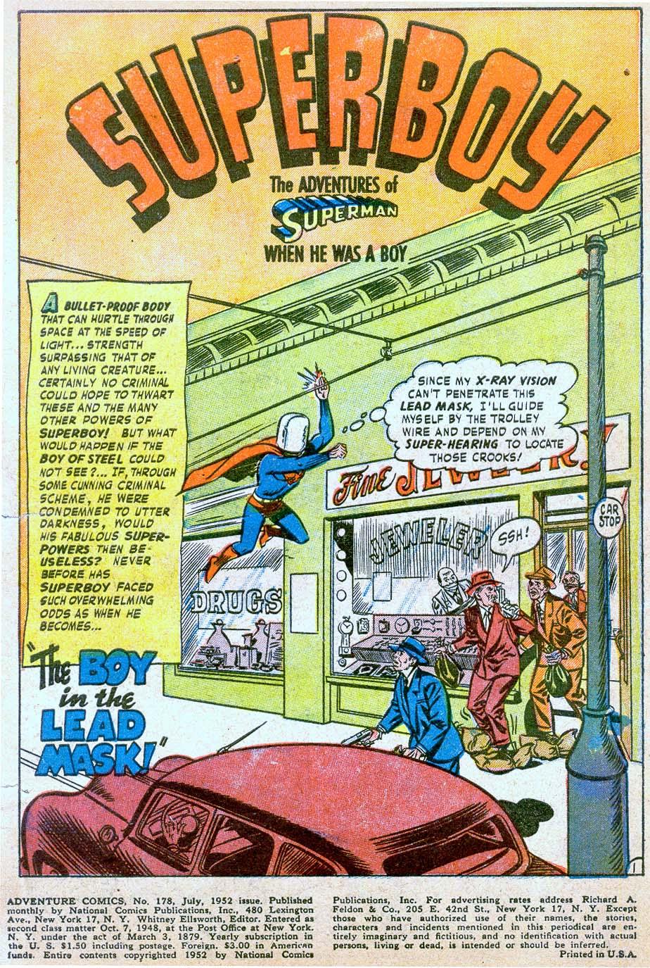 Read online Adventure Comics (1938) comic -  Issue #178 - 3