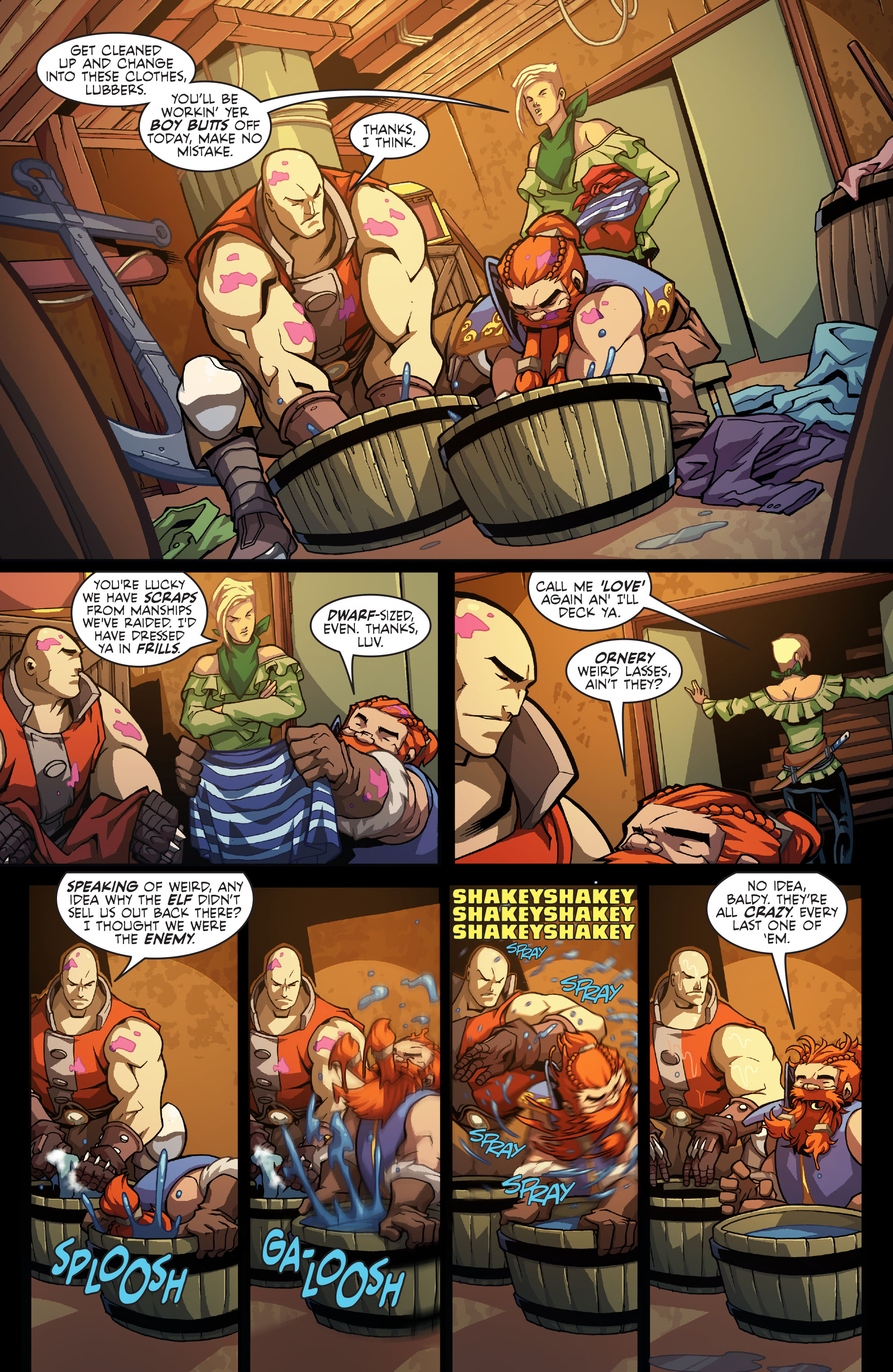 Read online Skullkickers comic -  Issue #13 - 17
