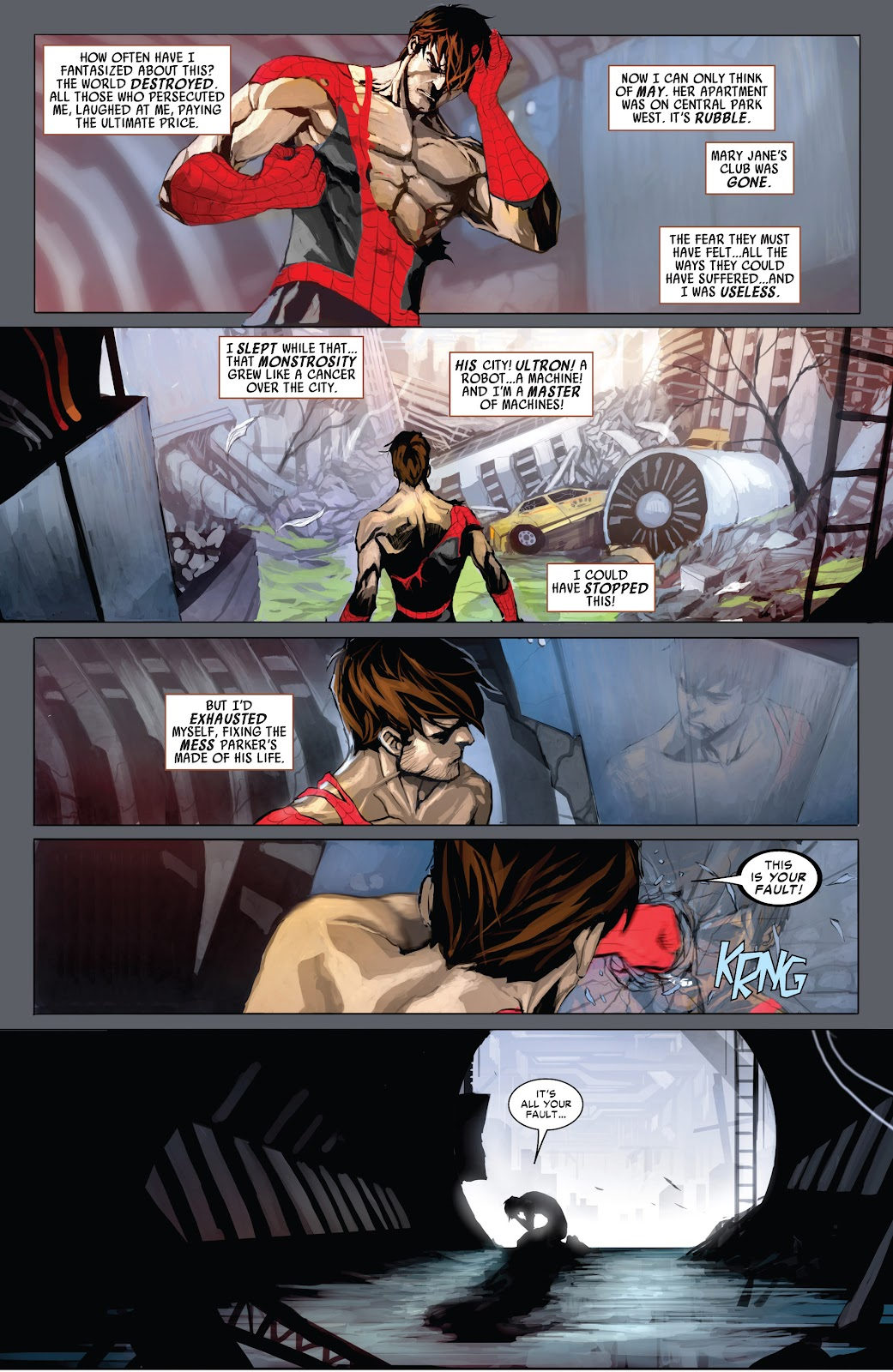 Read online Age of Ultron Companion comic -  Issue # TPB (Part 1) - 73
