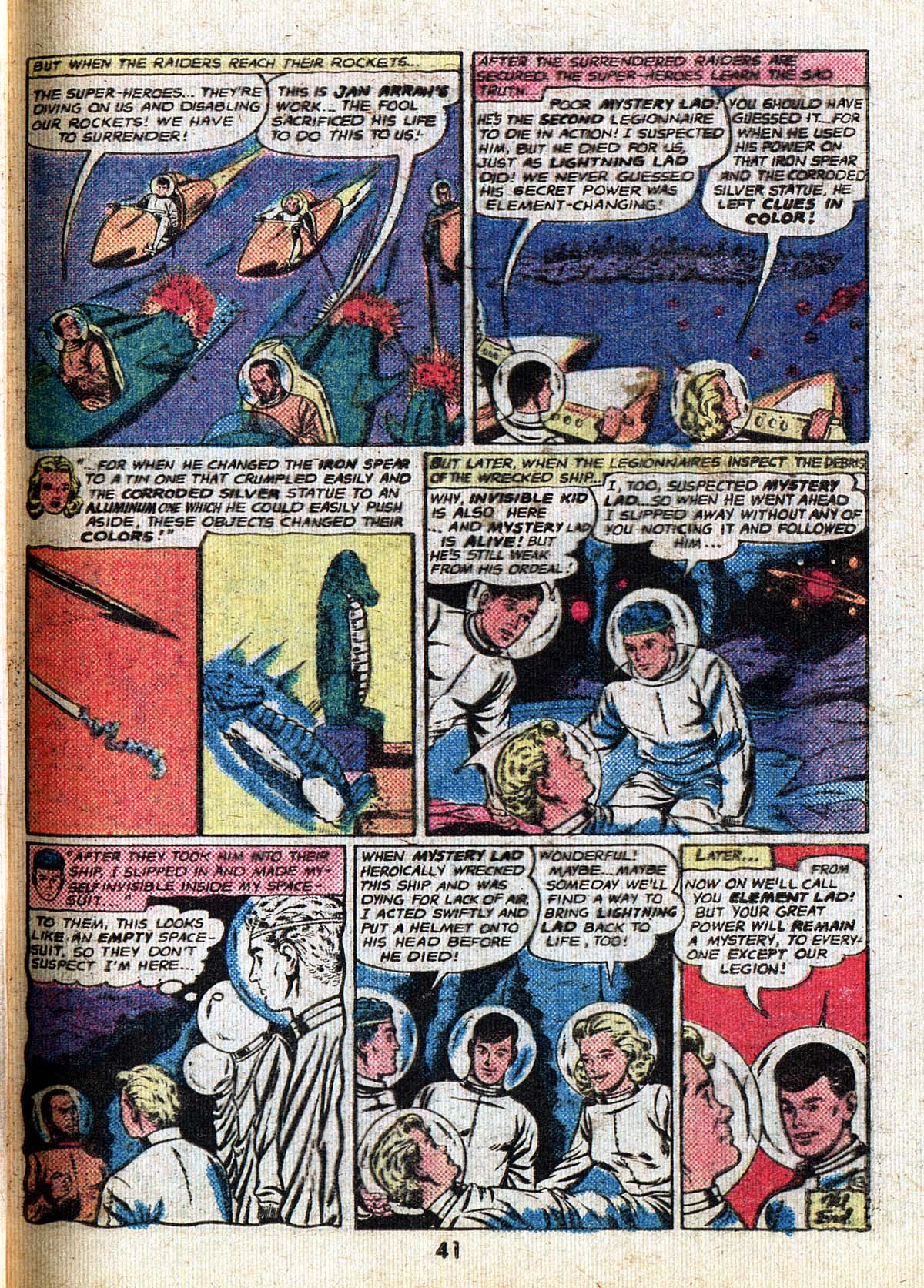 Read online Adventure Comics (1938) comic -  Issue #500 - 41