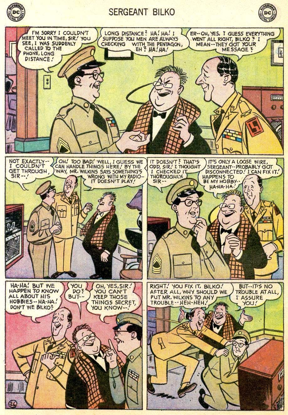 Sergeant Bilko issue 2 - Page 28