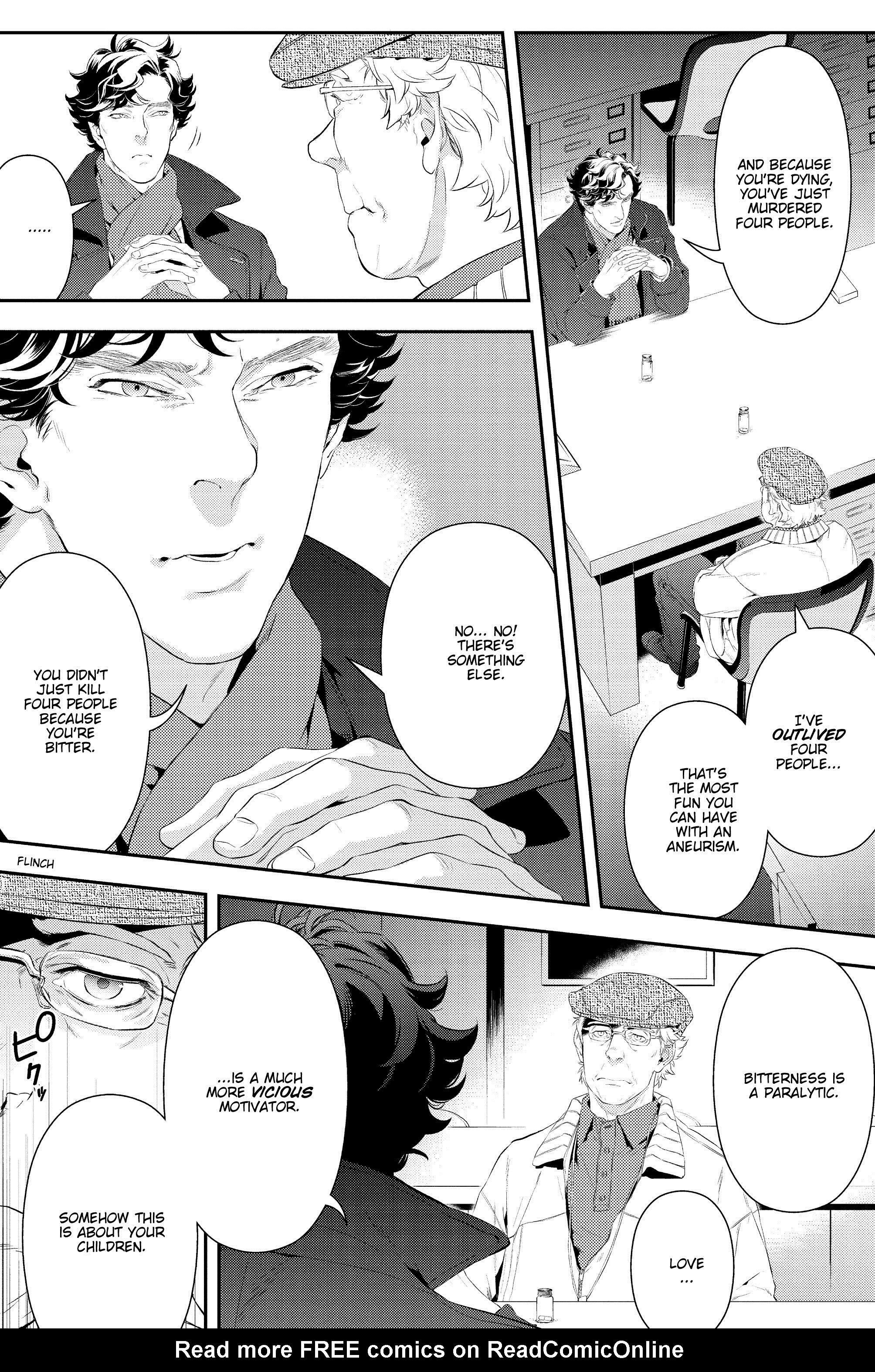 Read online Sherlock: A Study In Pink comic -  Issue #6 - 13