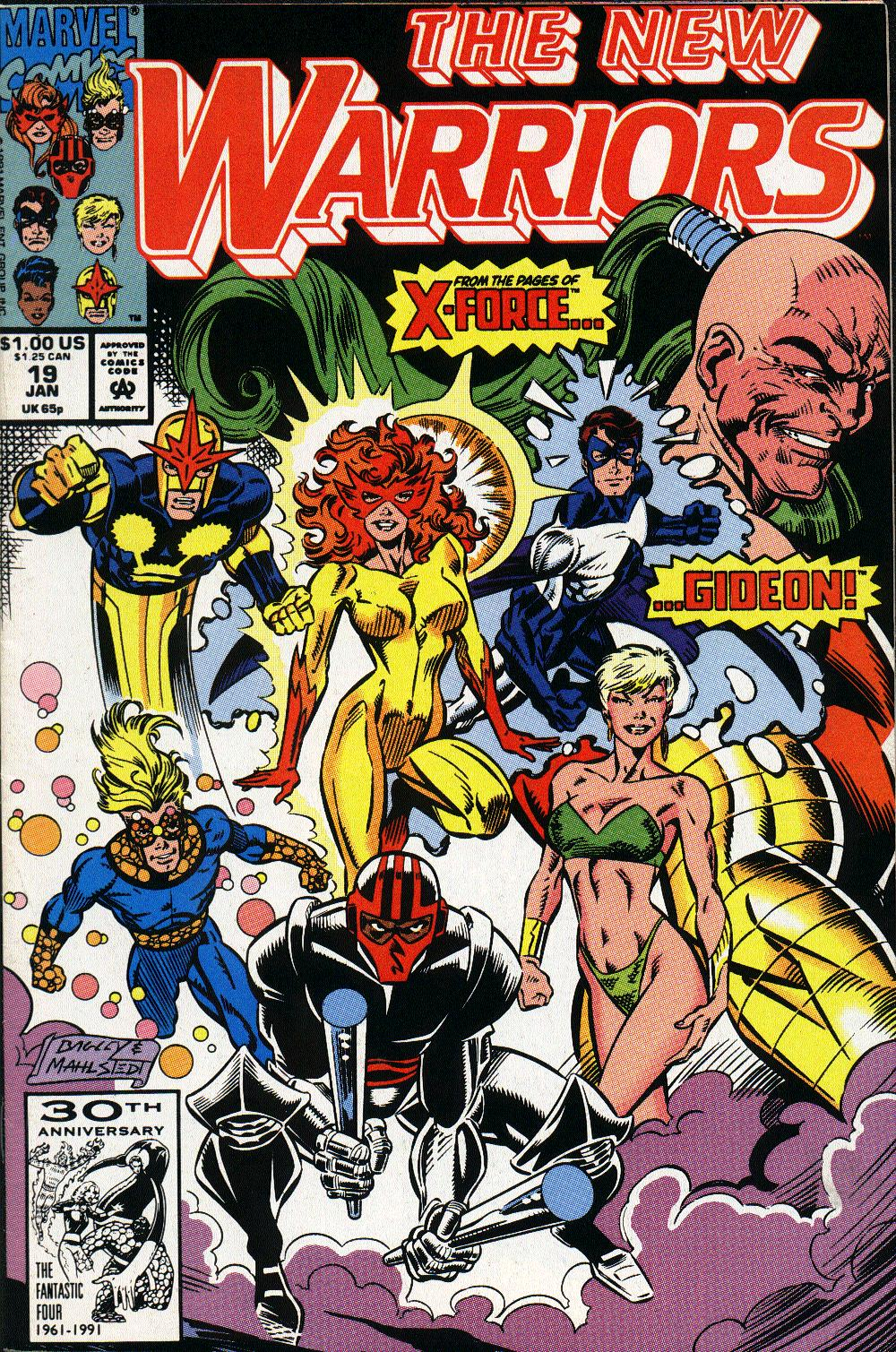 The New Warriors Issue #19 #23 - English 1