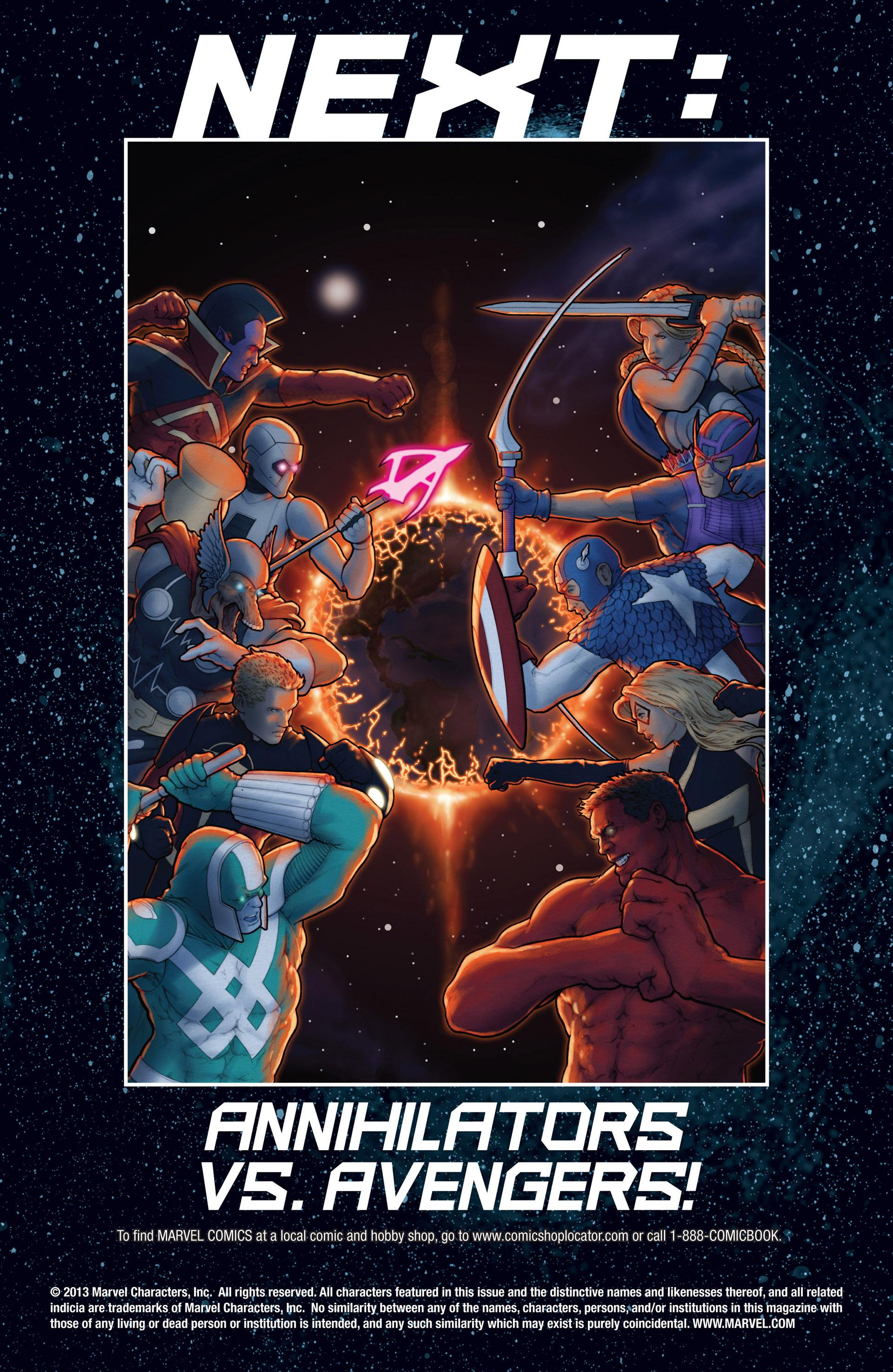 Read online Annihilators: Earthfall comic -  Issue #1 - 28