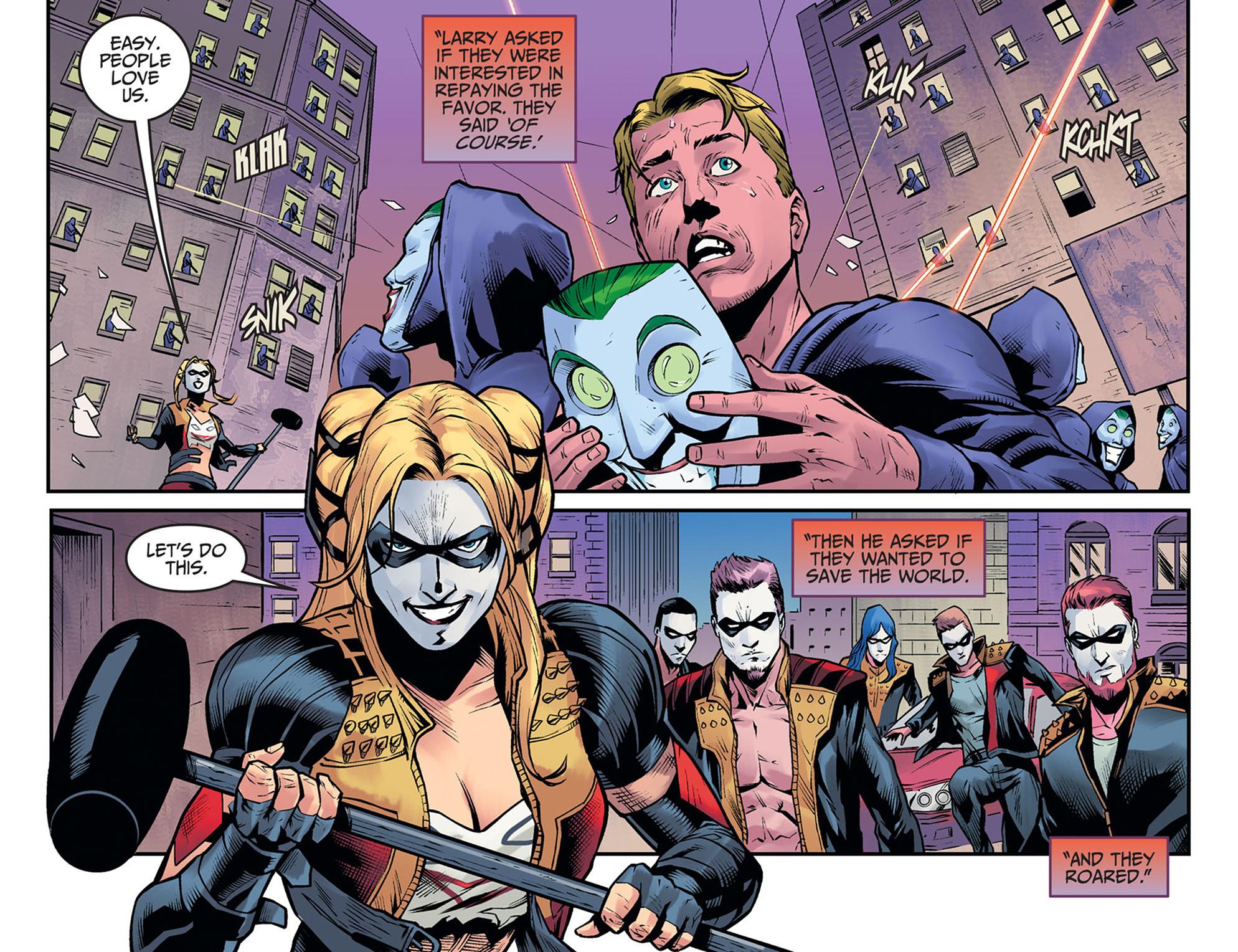 Read online Injustice: Ground Zero comic -  Issue #20 - 21