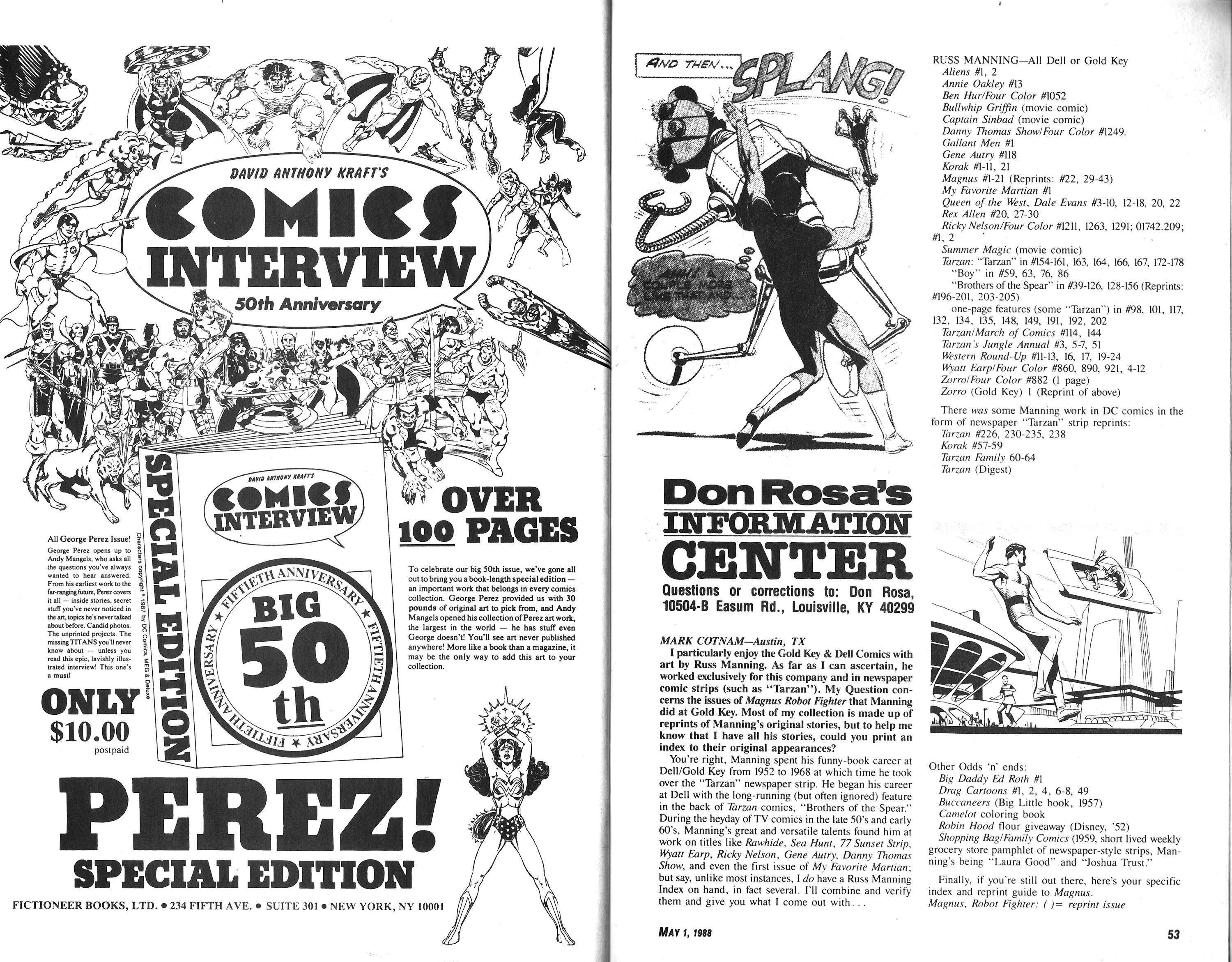 Read online Amazing Heroes comic -  Issue #140 - 27