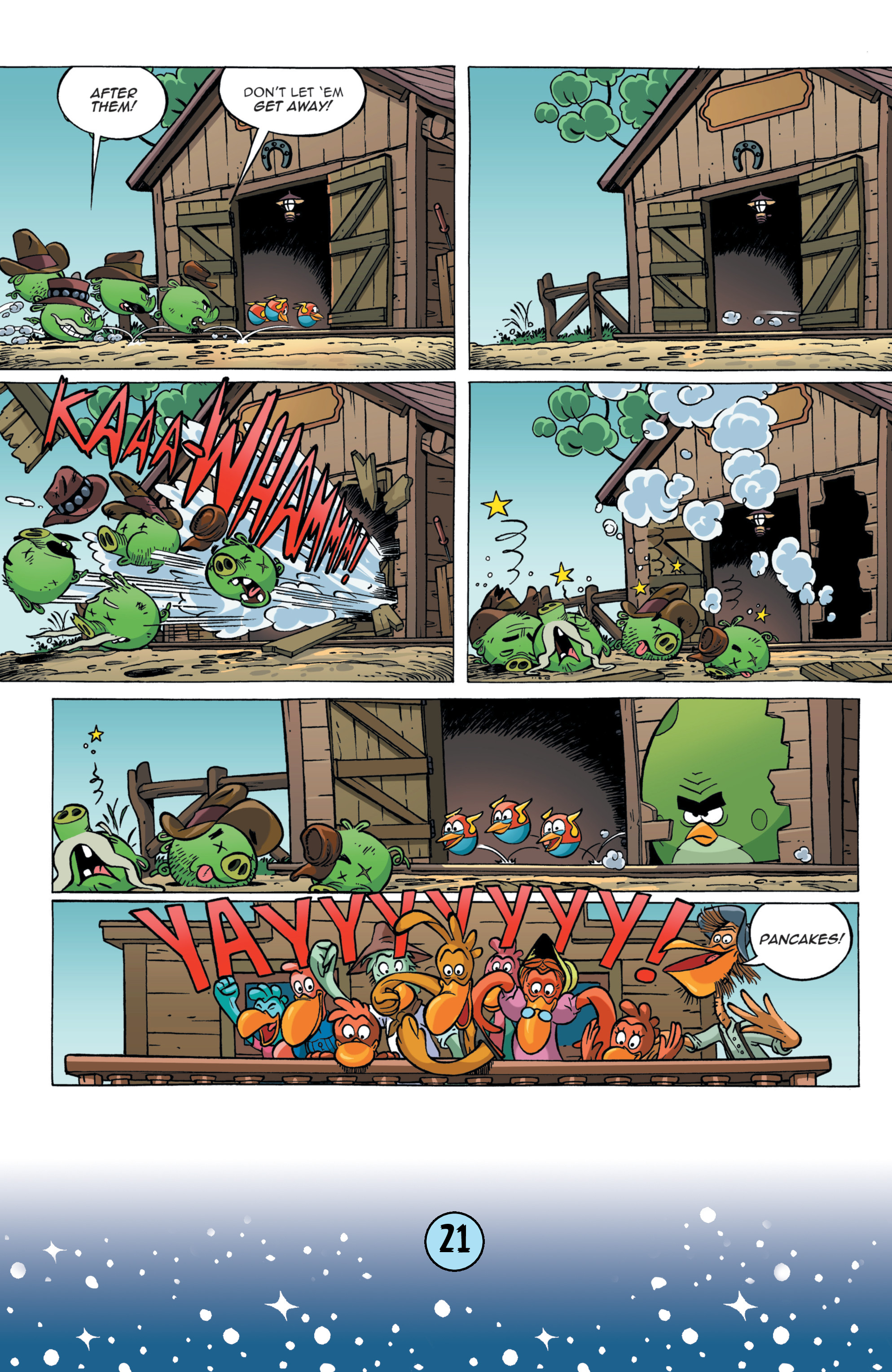 Read online Angry Birds Comics (2016) comic -  Issue #9 - 23