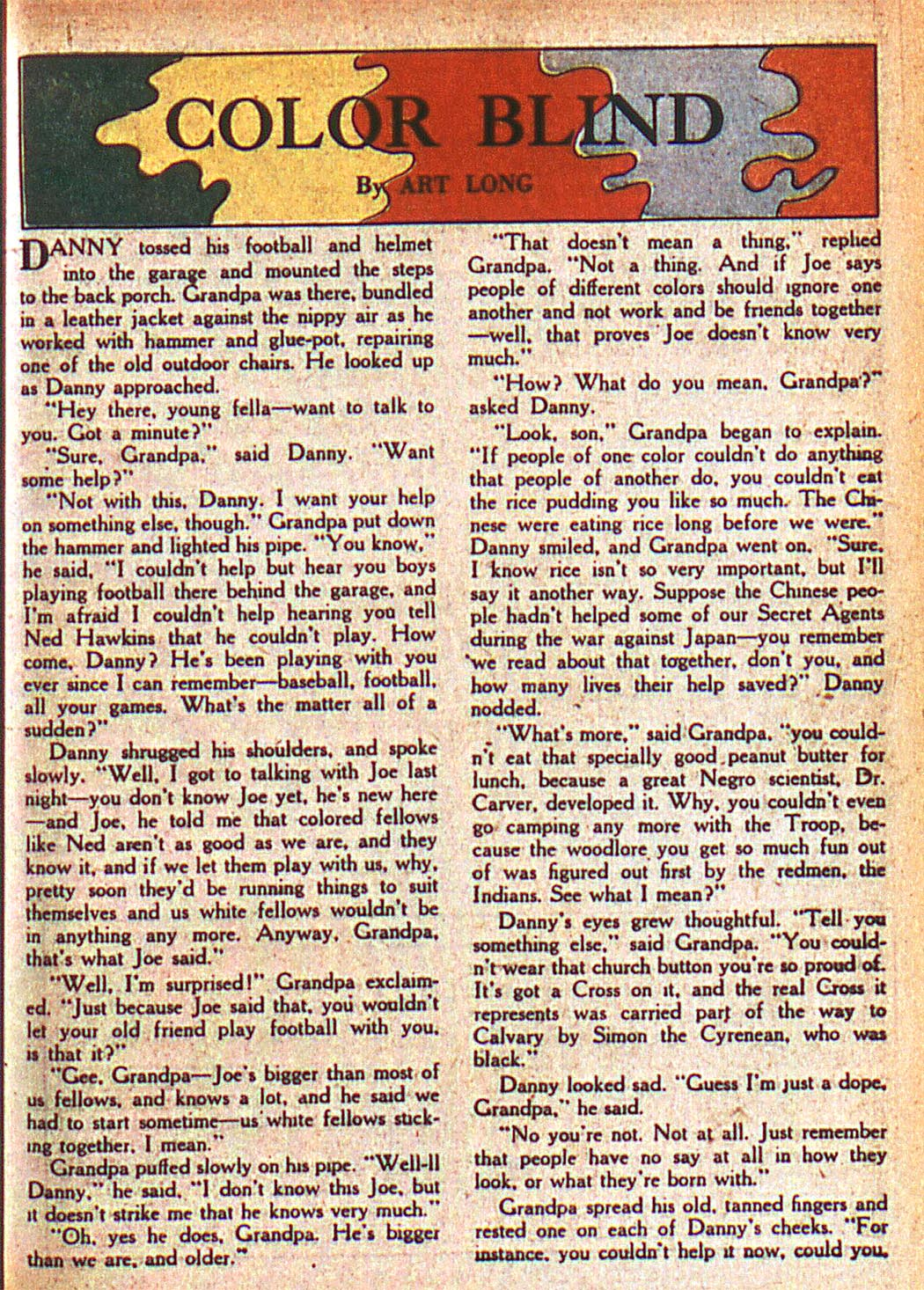 Read online Adventure Comics (1938) comic -  Issue #125 - 40