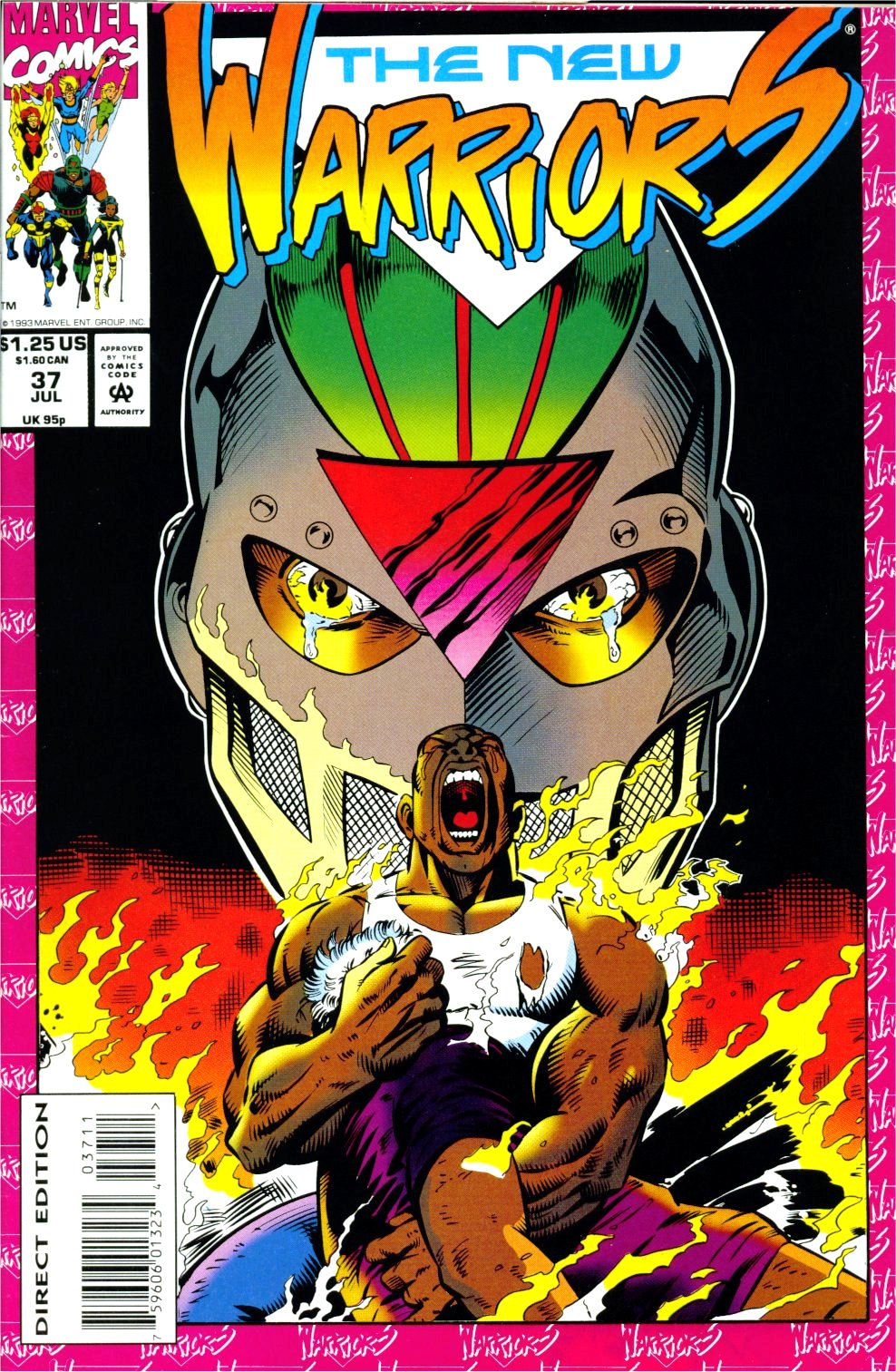 The New Warriors Issue #37 #41 - English 1